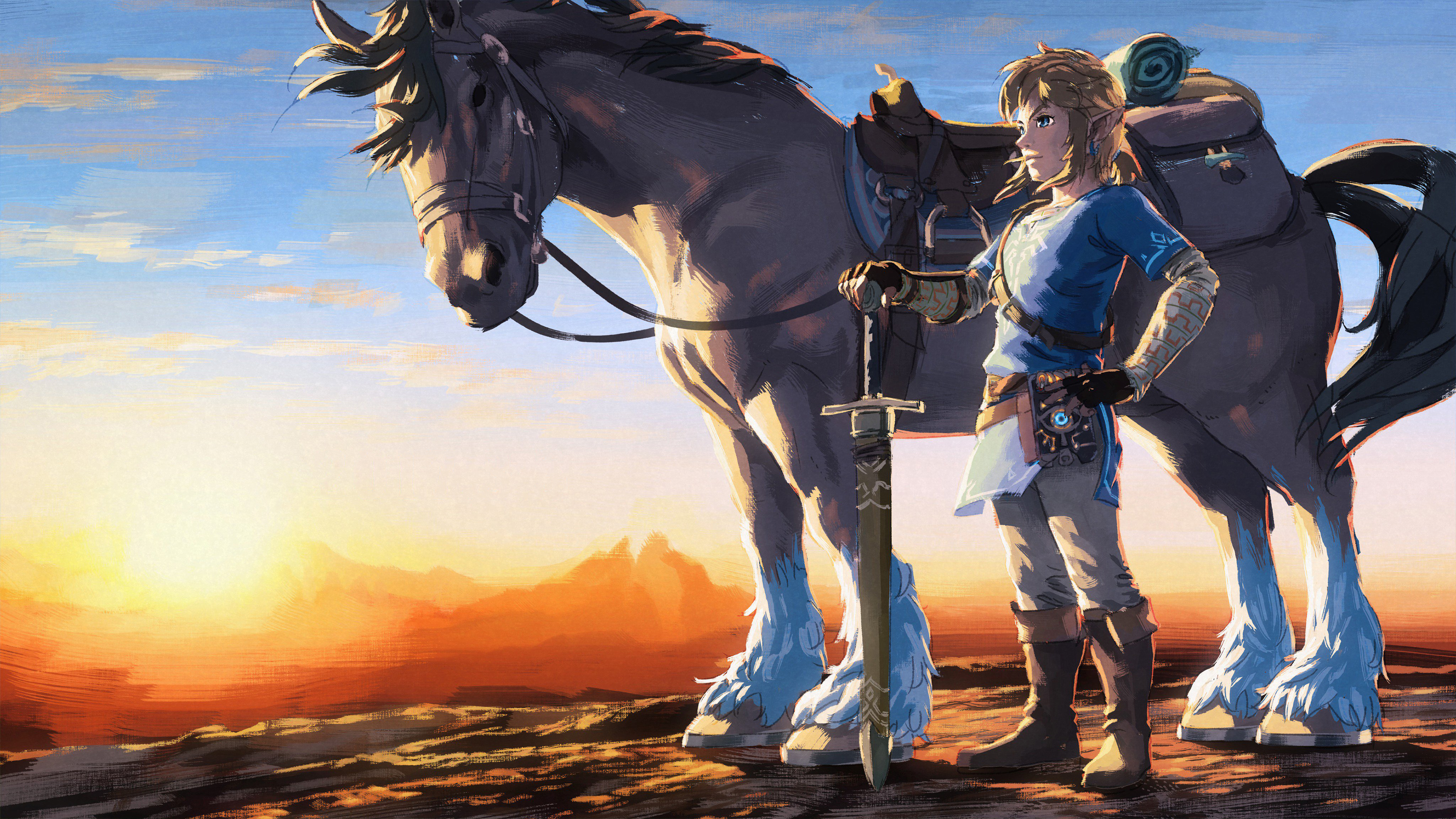 Breath Of The Wild Desktop Wallpaper: 1 Year Anniversary The Legend Of Zelda Breath Of The Wild