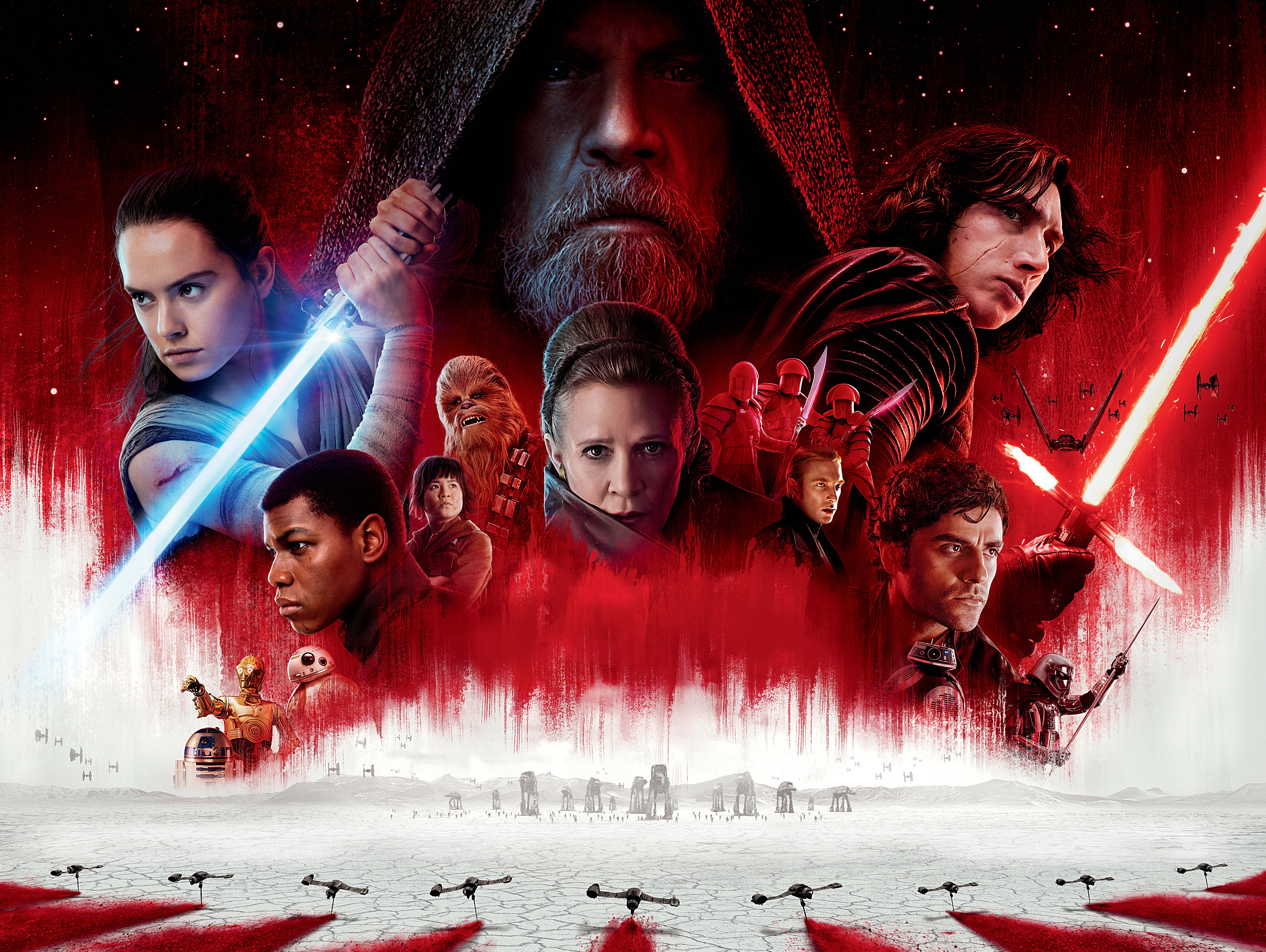 Star Wars The Last Jedi Desktop Wallpaper: 10k Star Wars The Last Jedi, HD Movies, 4k Wallpapers