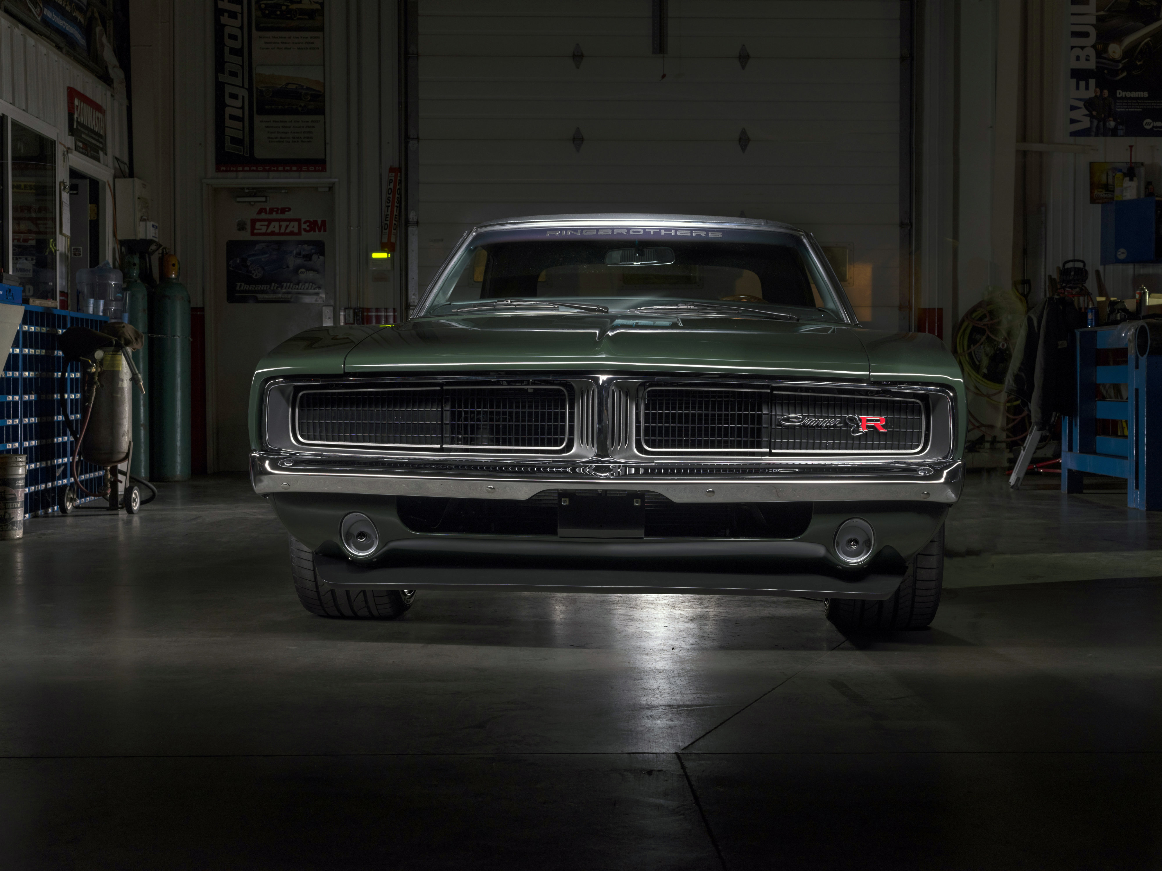 1969 Ringbrothers Dodge Charger Defector Hd Cars 4k