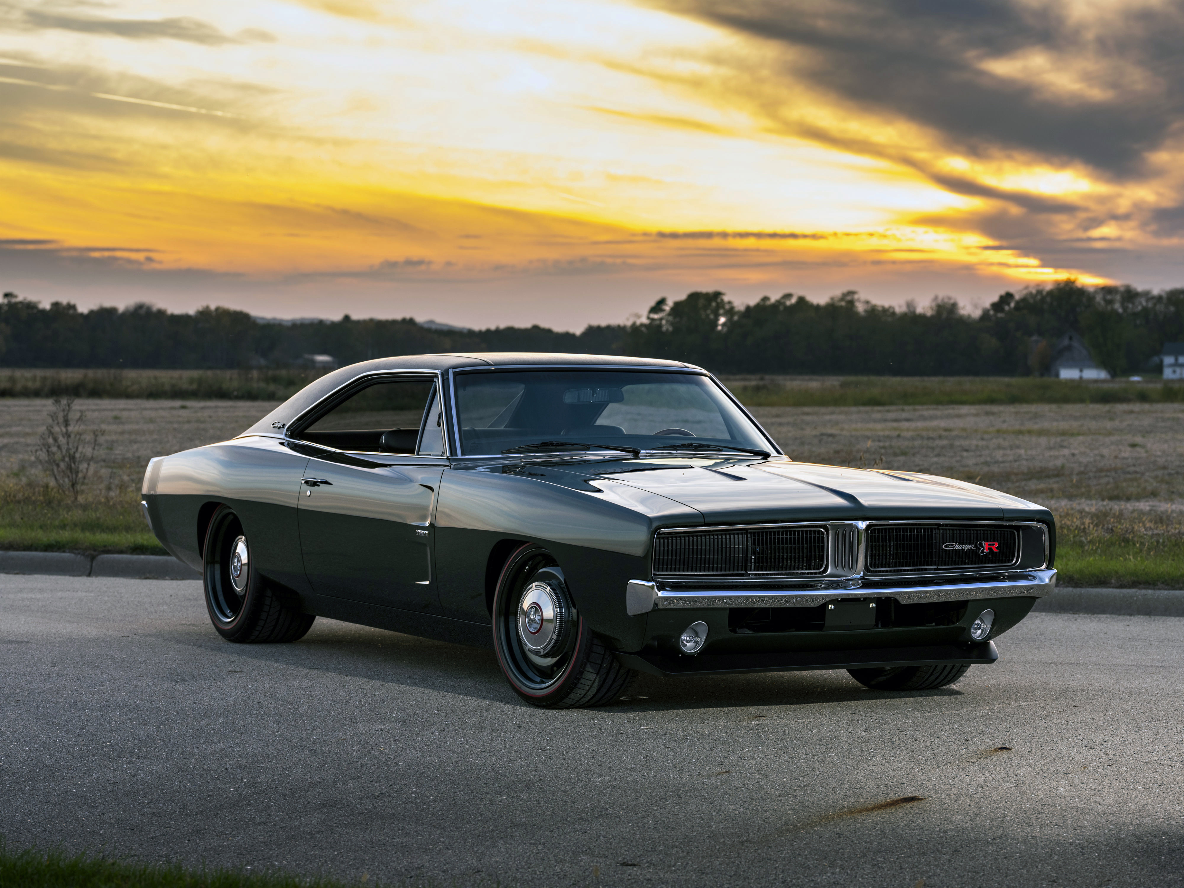 1969 Ringbrothers Dodge Charger Defector Front View Hd Cars
