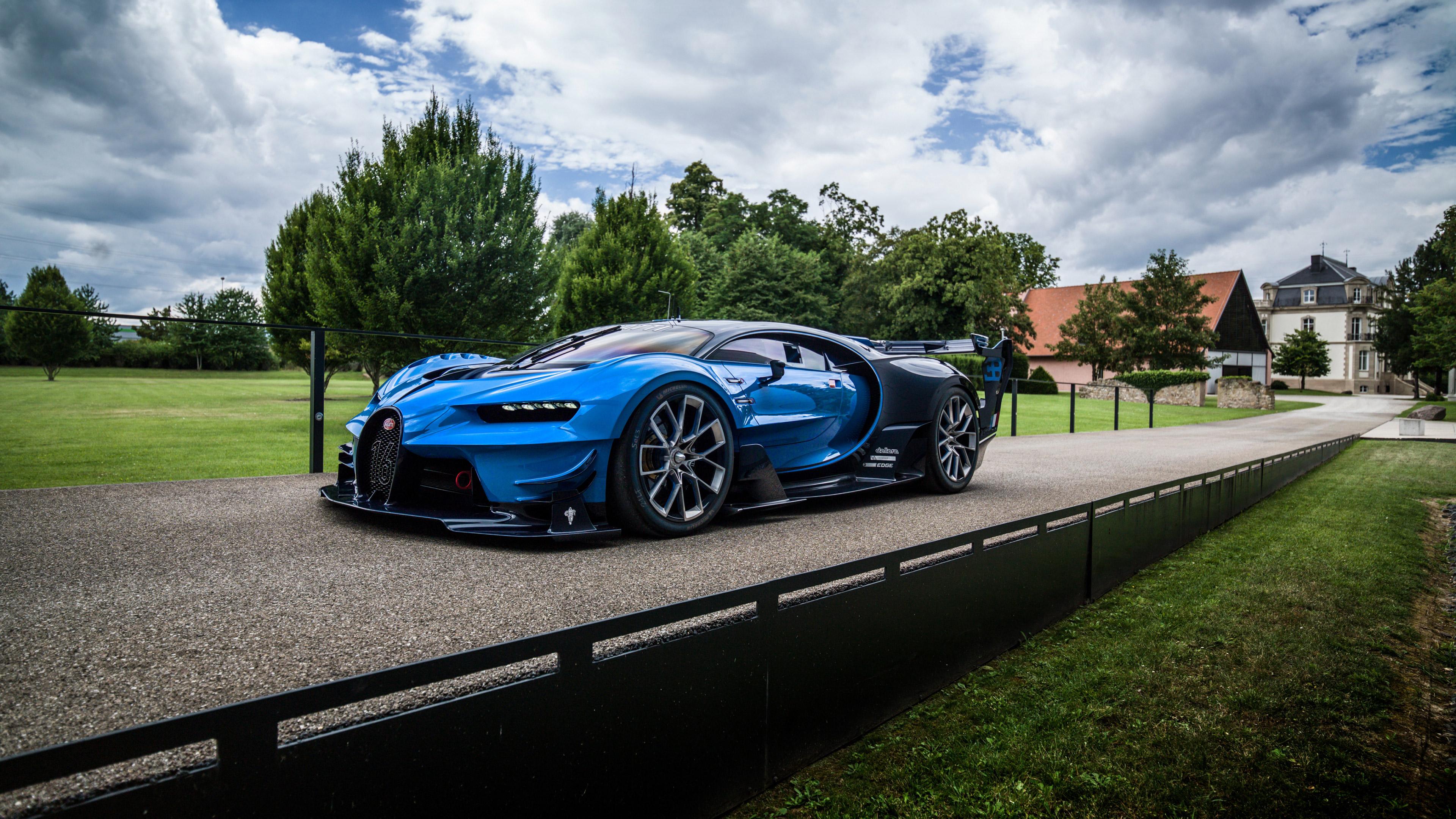 Gran Turismo Wallpaper Hd: 2016 Bugatti Vision Gran Turismo, HD Cars, 4k Wallpapers