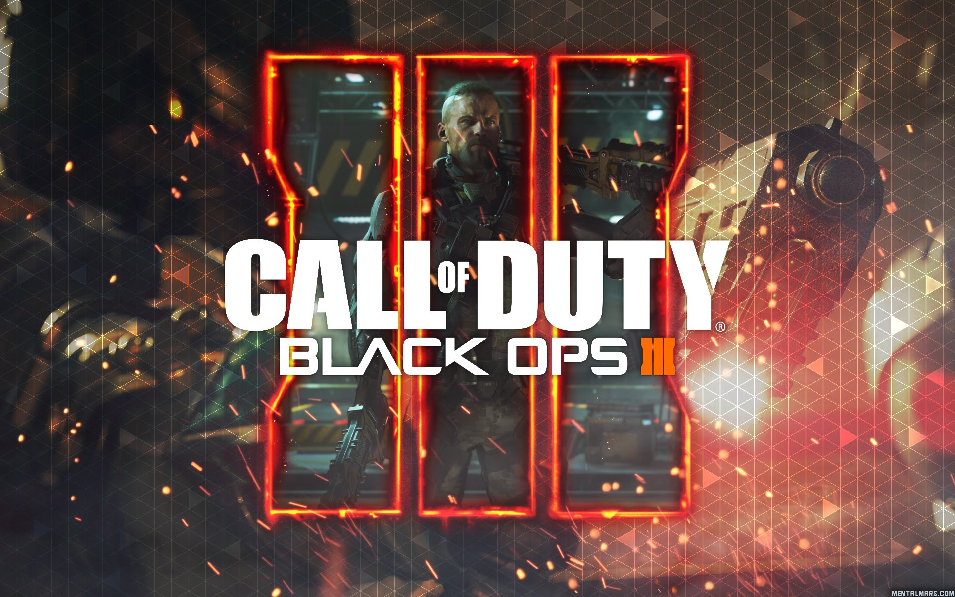 Call Of Duty Black Ops 3 Hd Wallpapers: 2048x1152 2016 Call Of Duty Black Ops 3 HD 2048x1152