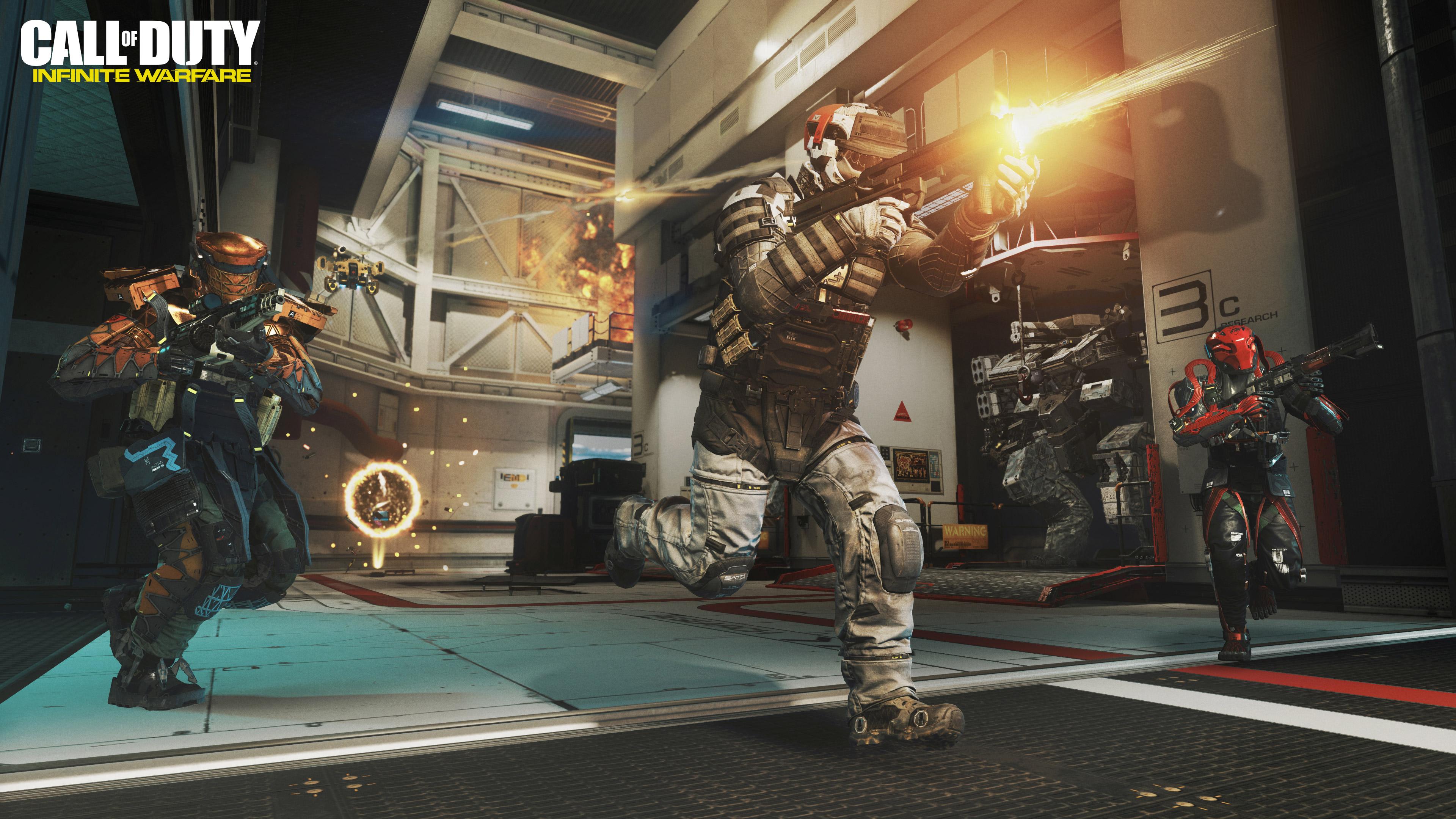 Cod Infinite Warfare Wallpaper: 2016 Call Of Duty Infinite Warfare, HD Games, 4k