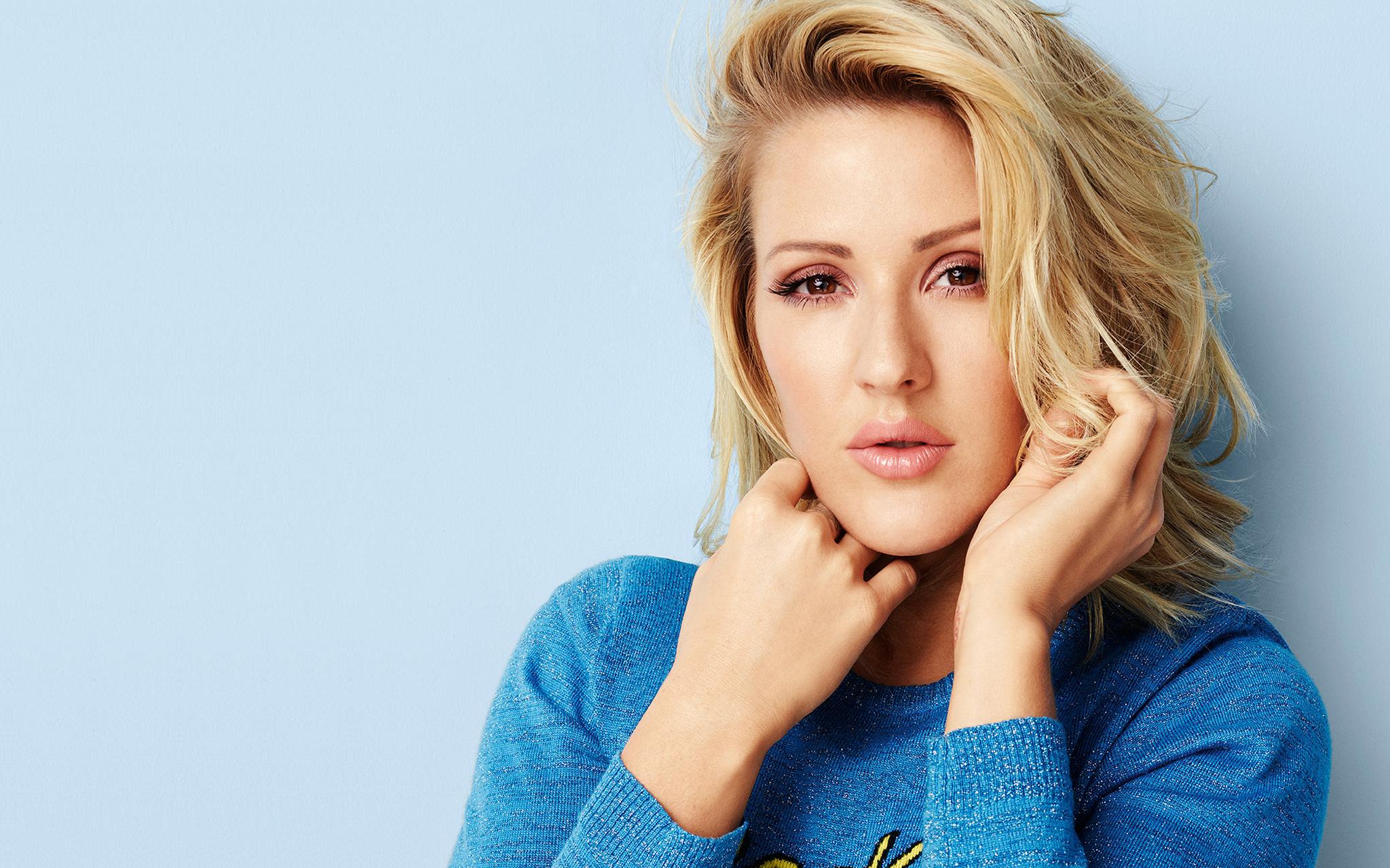 Ellie Goulding on Latest Write Your Story Lyrics