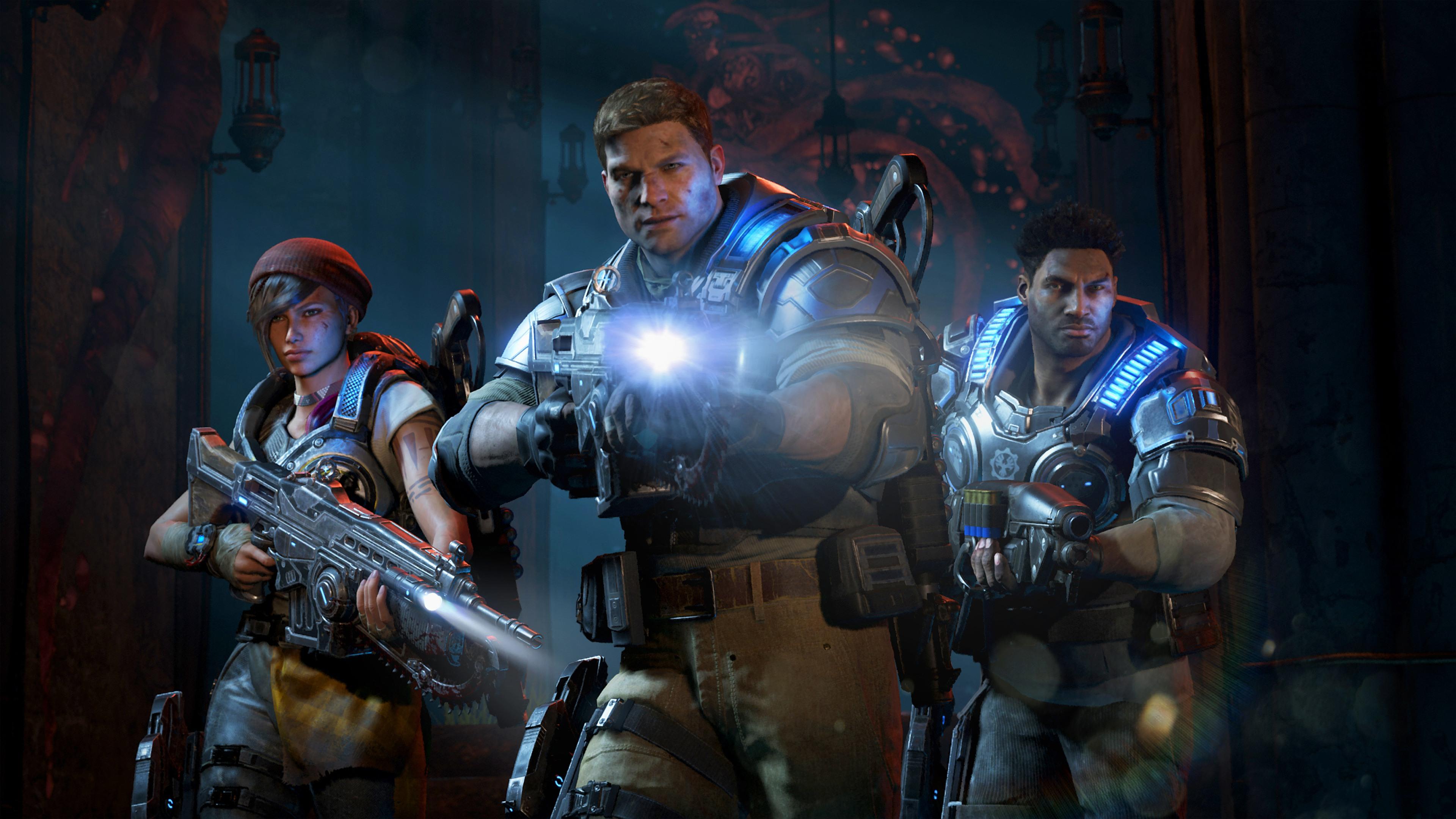 2016 gears of war 4 hd games 4k wallpapers images - Wallpaper gears of war 4 ...