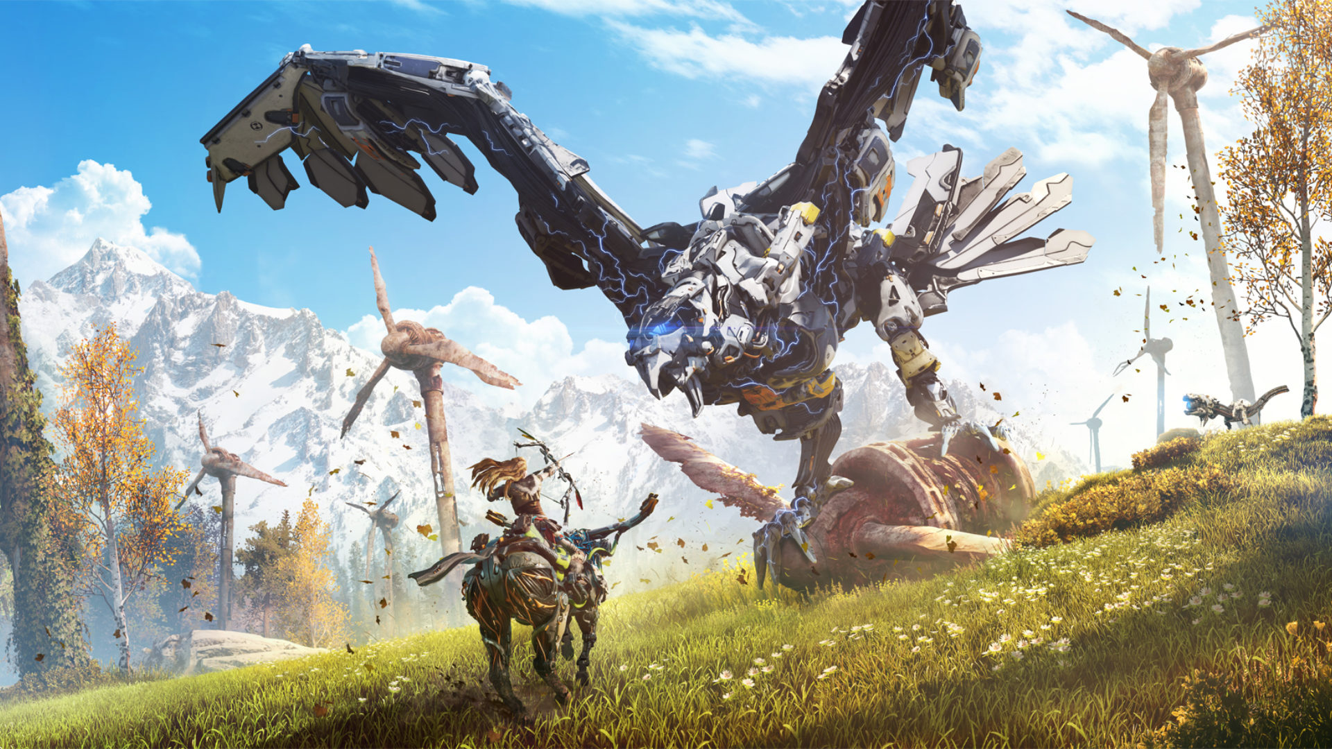 2016 horizon zero dawn hd games 4k wallpapers images - Horizon zero dawn android wallpaper ...
