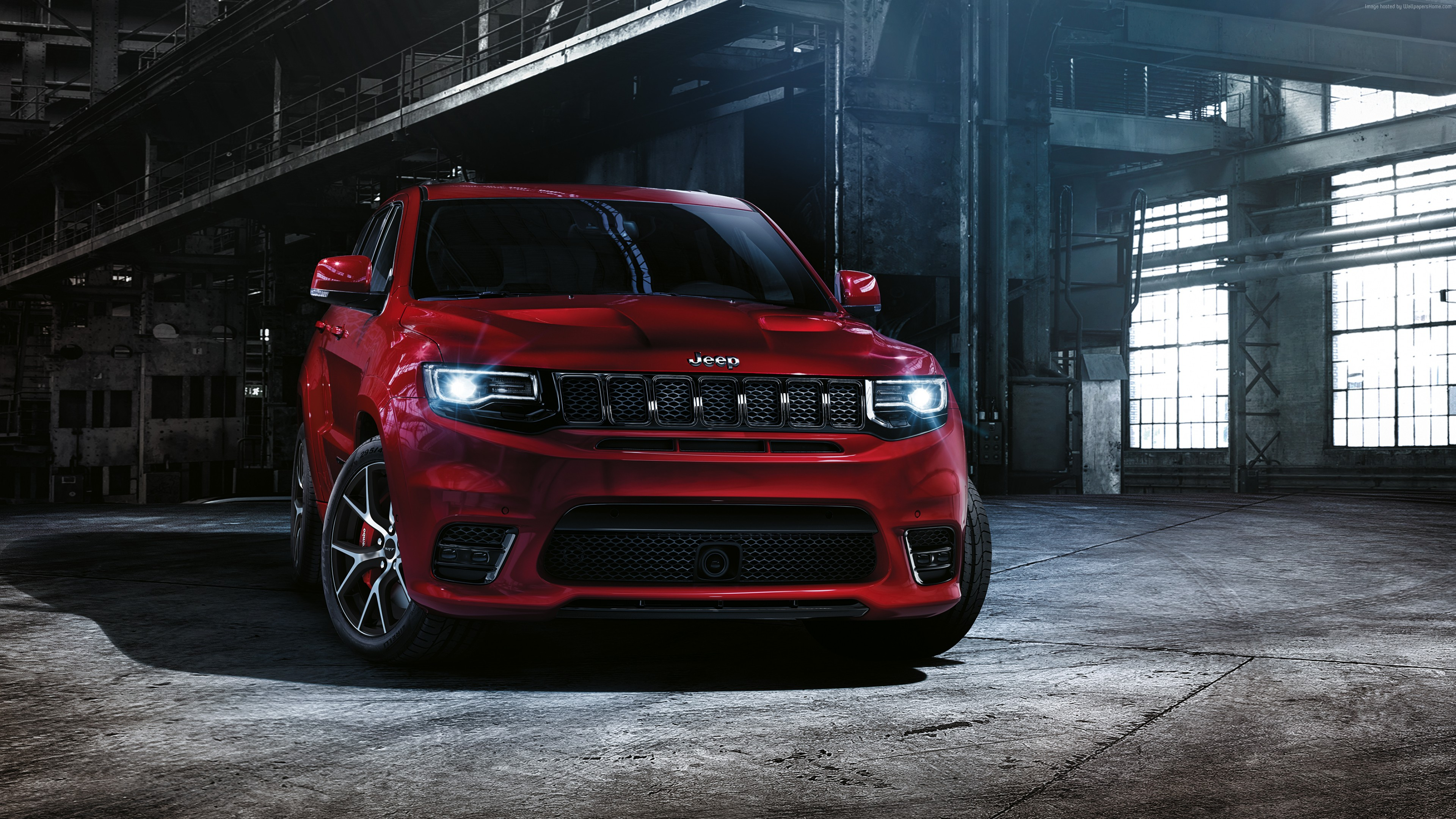 2016 jeep grand cherokee srt, hd cars, 4k wallpapers, images