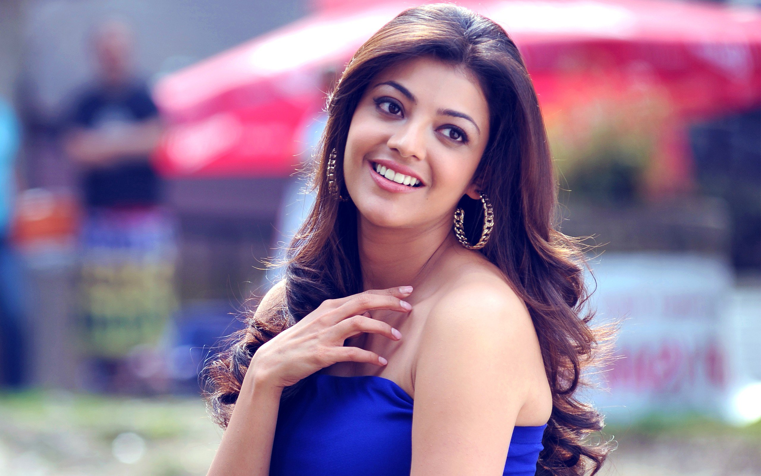 Wallpaper download kajal agarwal - 2016 Kajal Agarwal 1366x768 Resolution