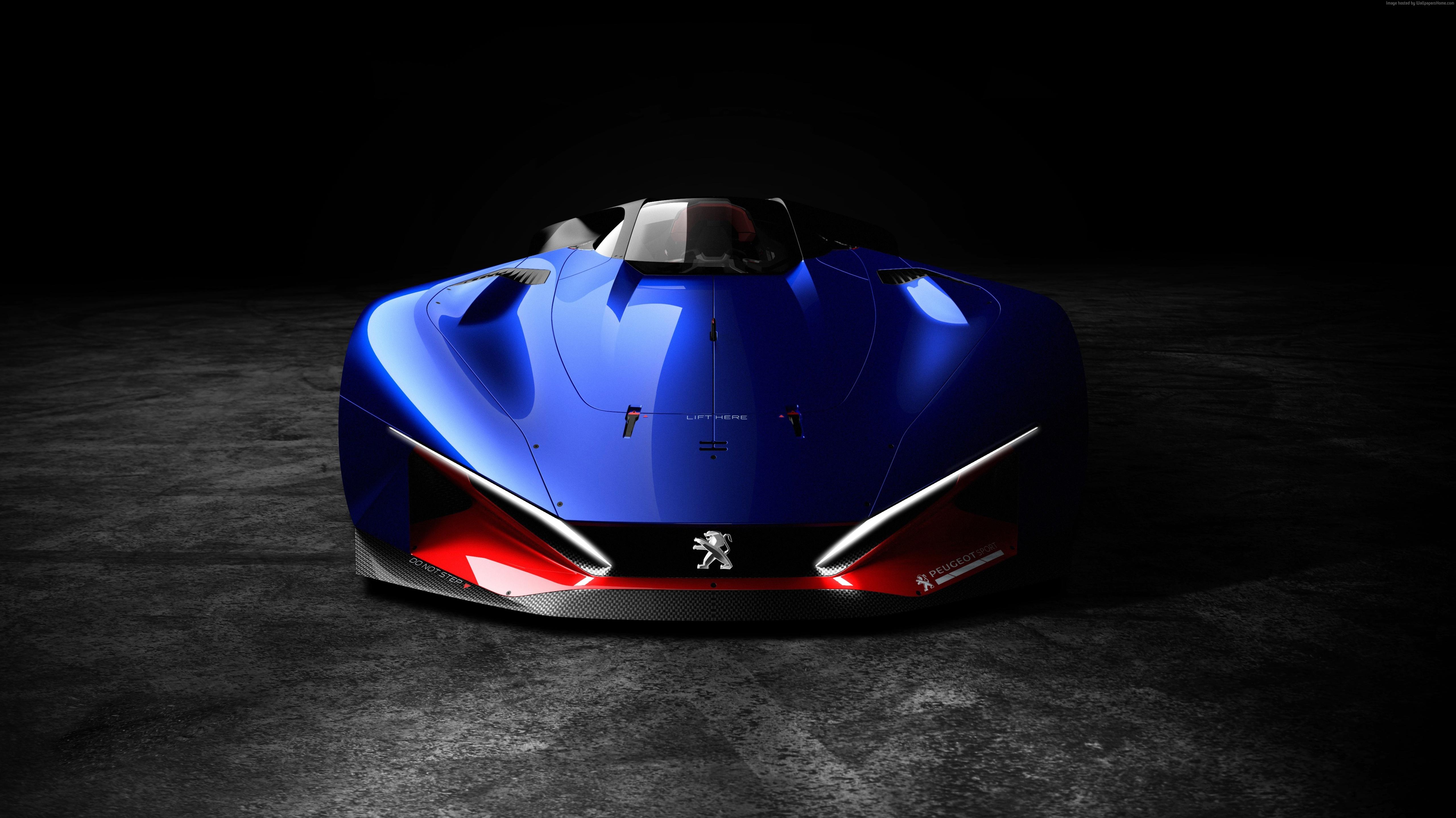2016 peugeot l500 r concept car | cars hd 4k wallpapers