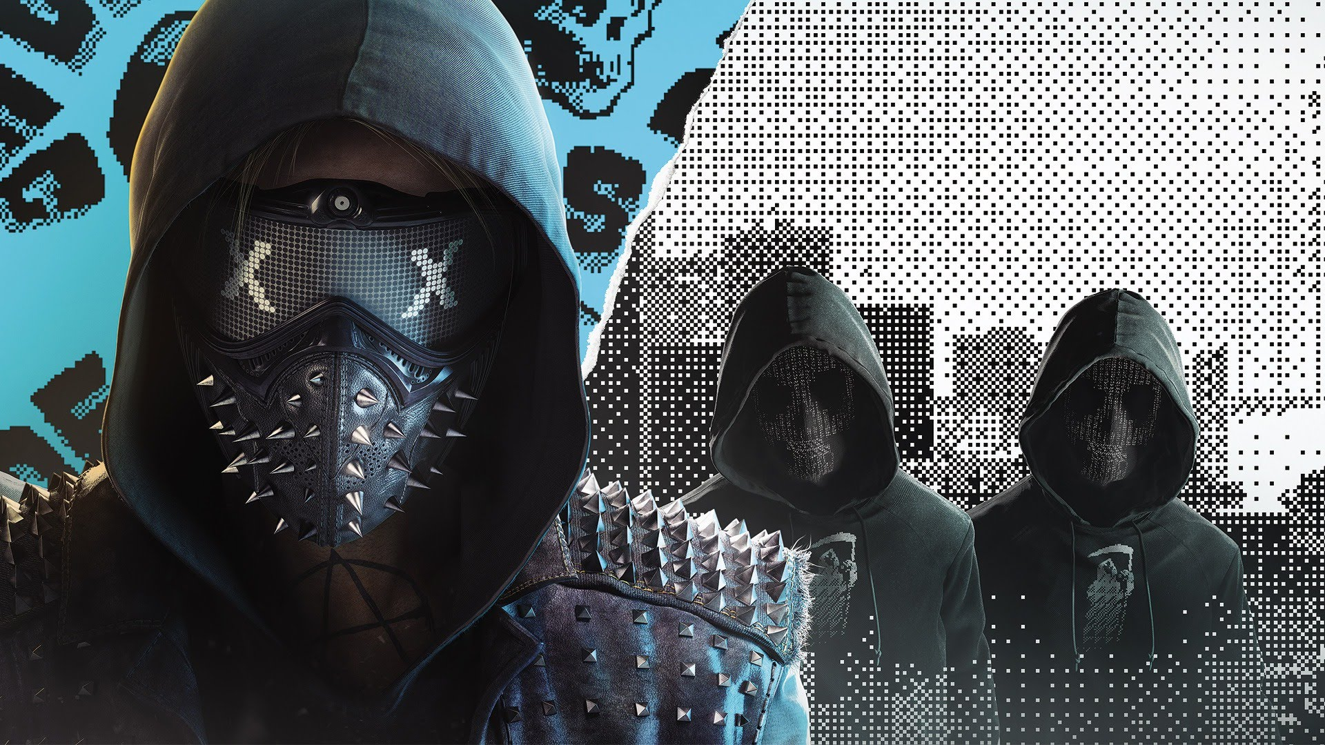 Group Of Watch Dog Creed Wallpapers 1360x768