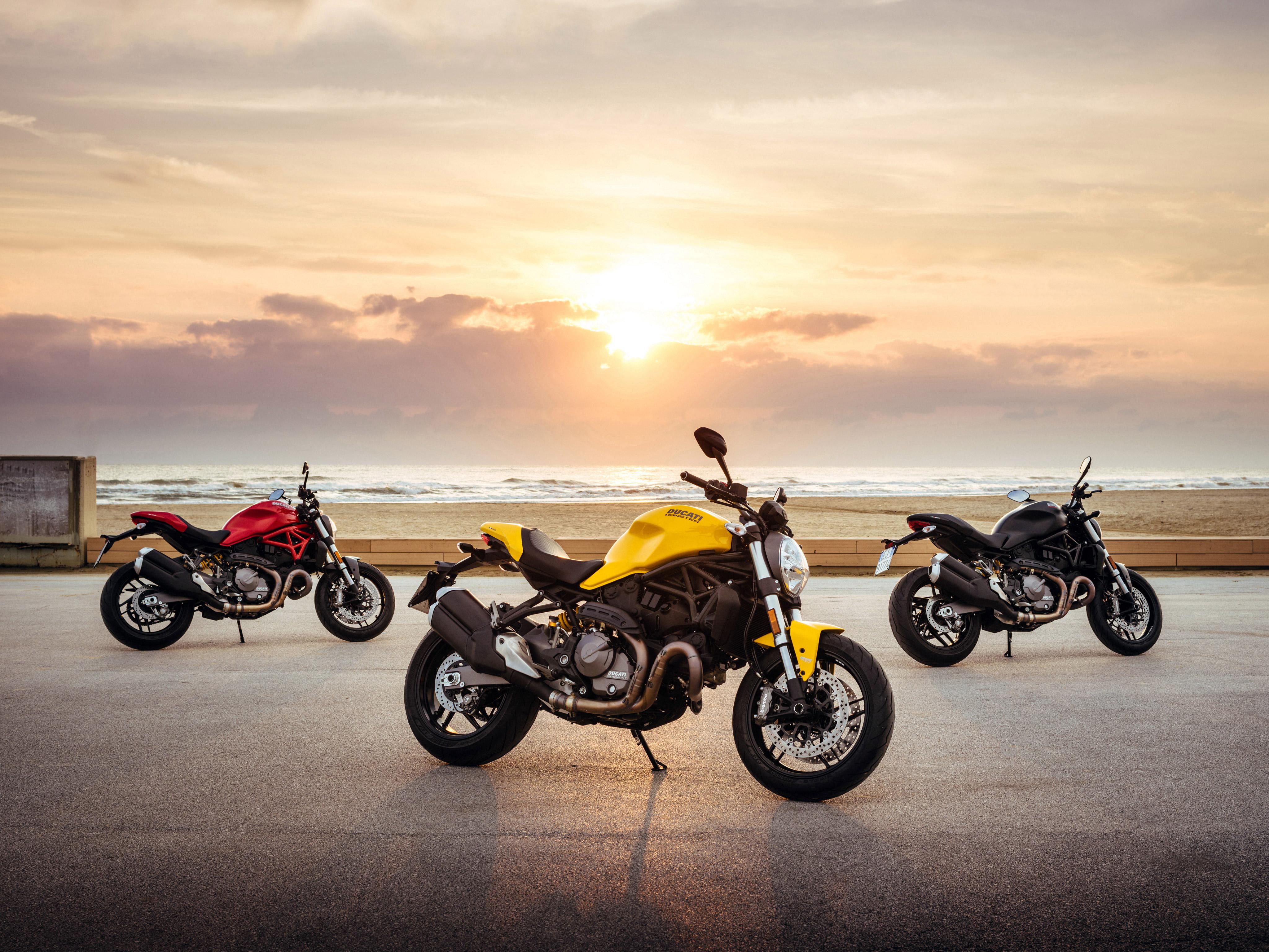 2017 ducati monster 821 4k, hd bikes, 4k wallpapers, images
