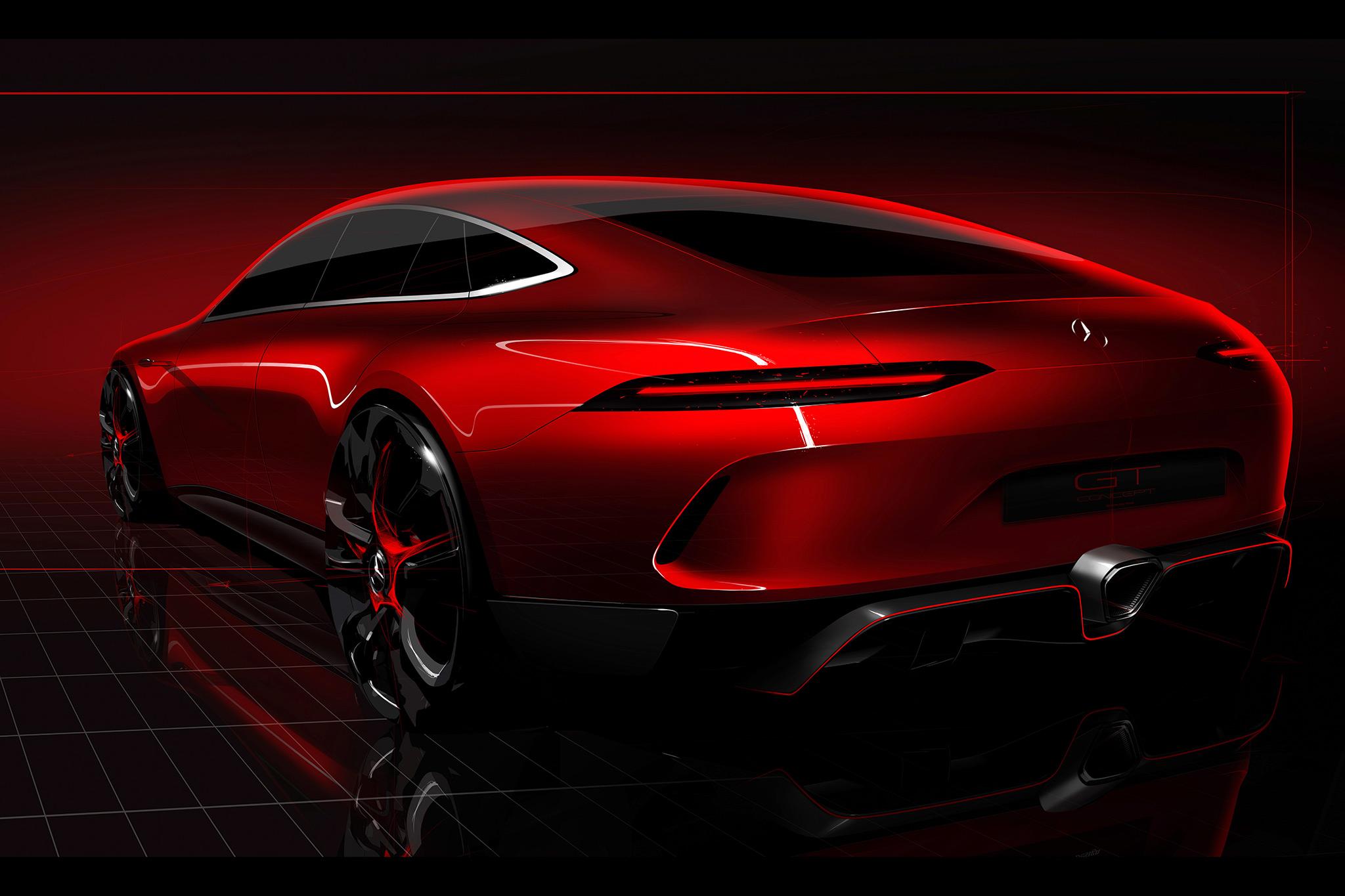 2017 geneva mercedes benz amg gt concept hd cars 4k for New mercedes benz concept