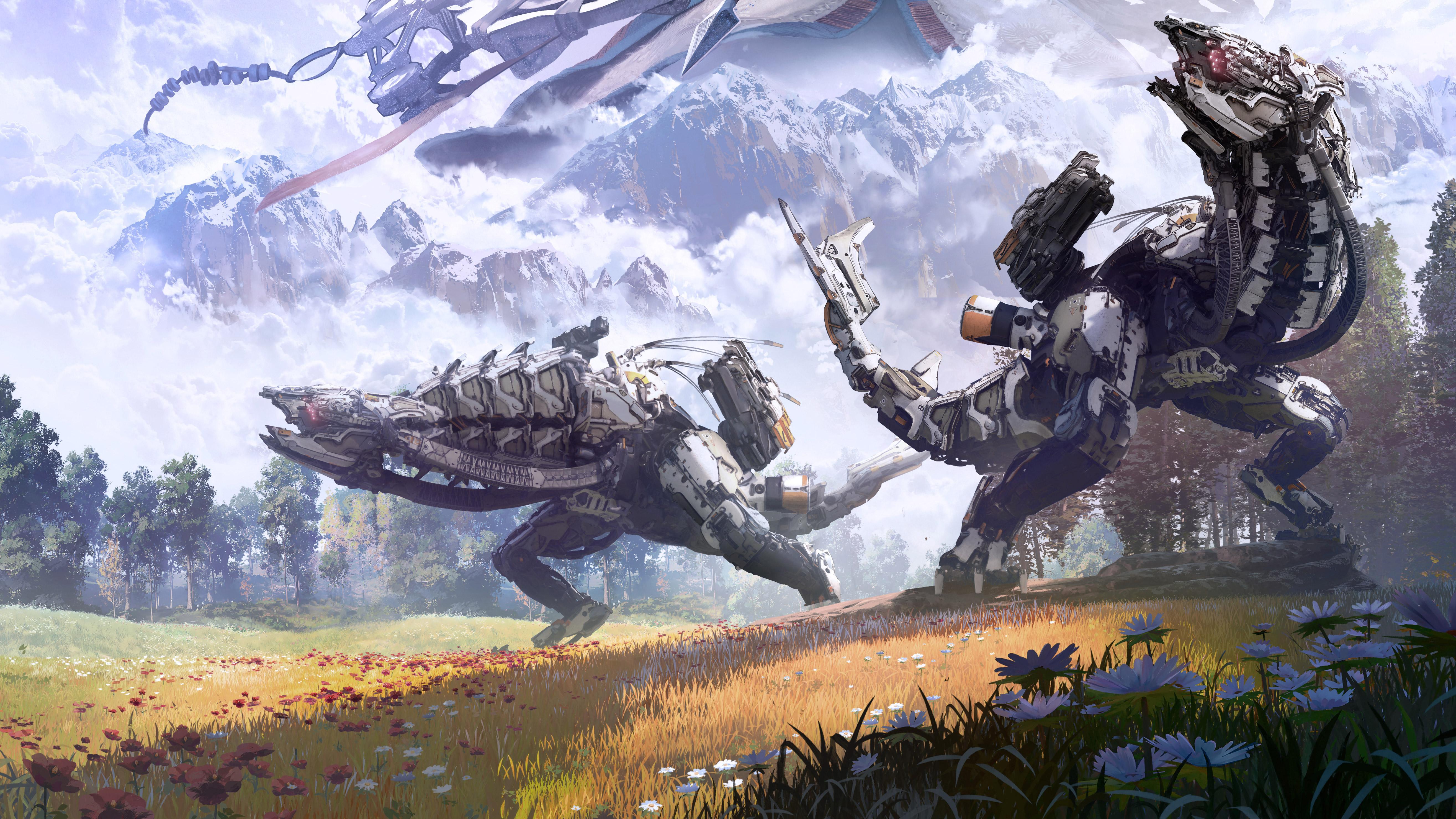 Horizon Zero Dawn Wallpapers: 2017 Horizon Zero Dawn Complete Edition, HD Games, 4k