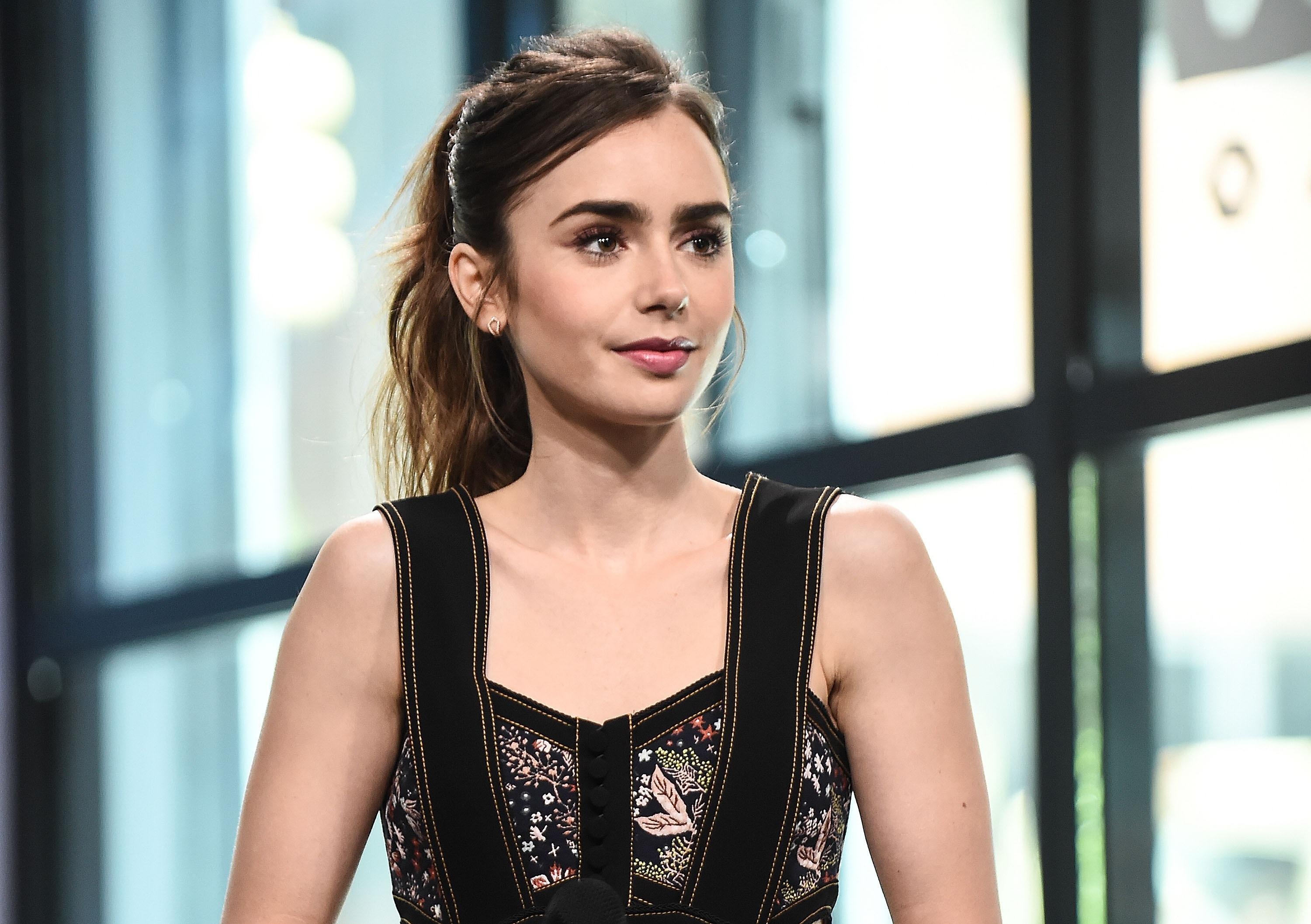 2017 lily collins, hd celebrities, 4k wallpapers, images