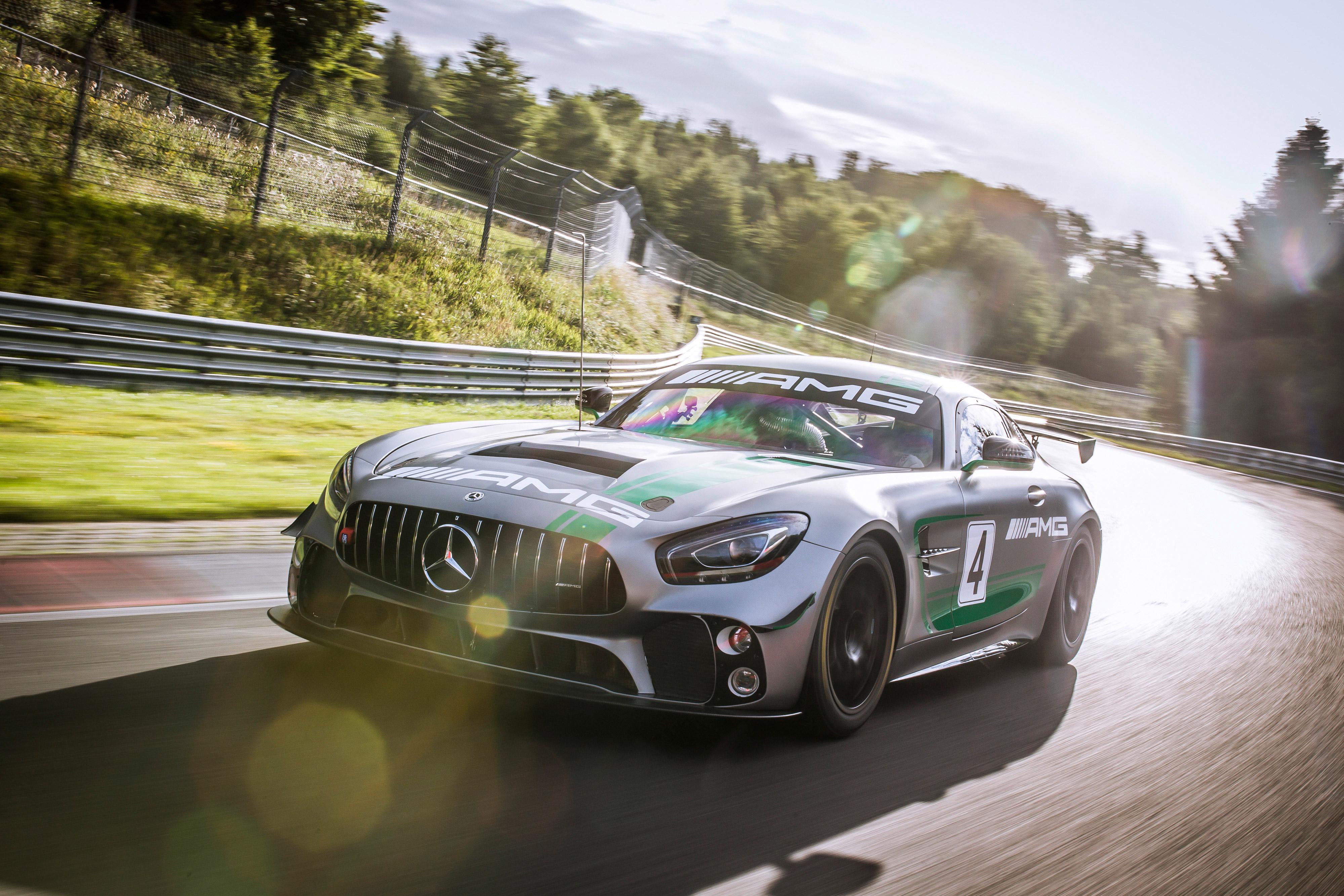 2017 Mercedes AMG GT4 C190 4k, HD Cars, 4k Wallpapers ...