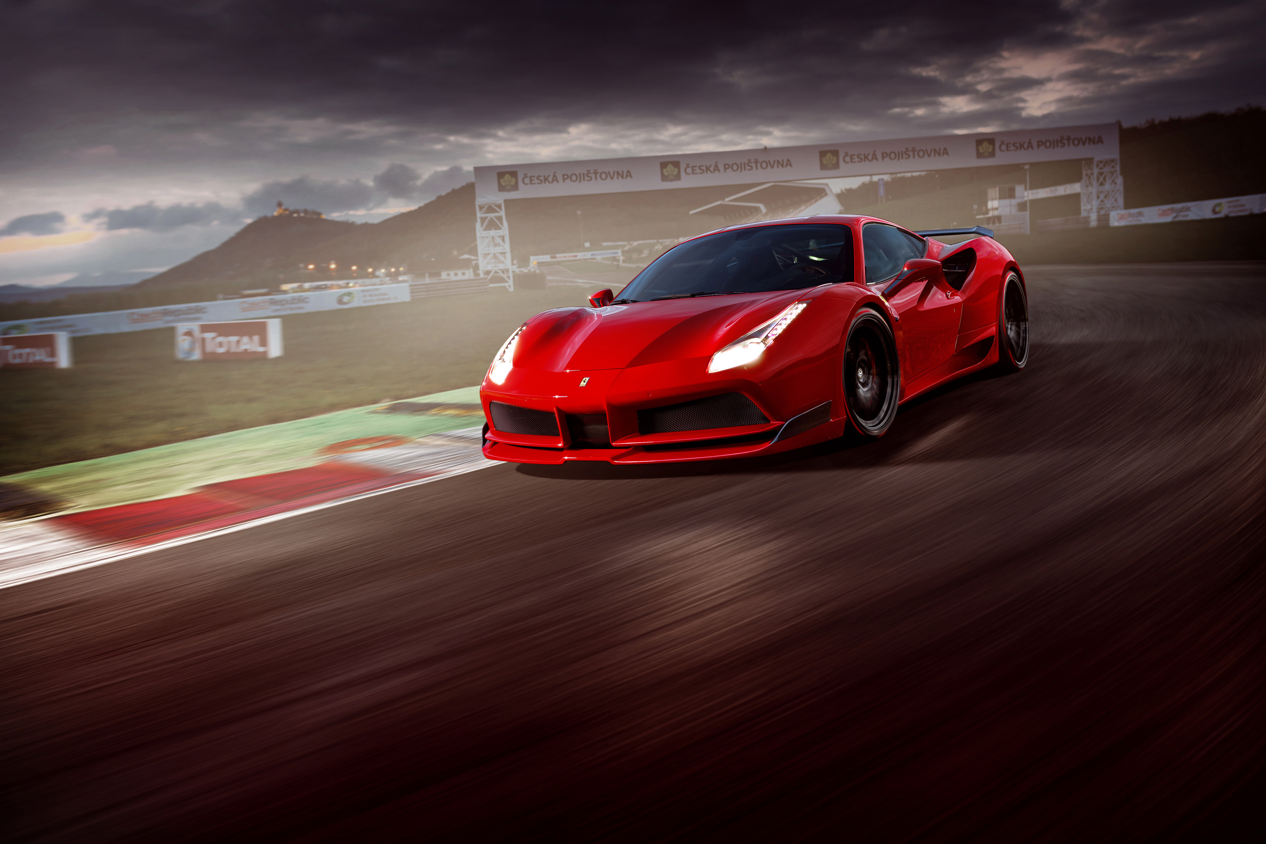 2017 Novitec Rosso Ferrari 488 GTB, HD Cars, 4k Wallpapers ...
