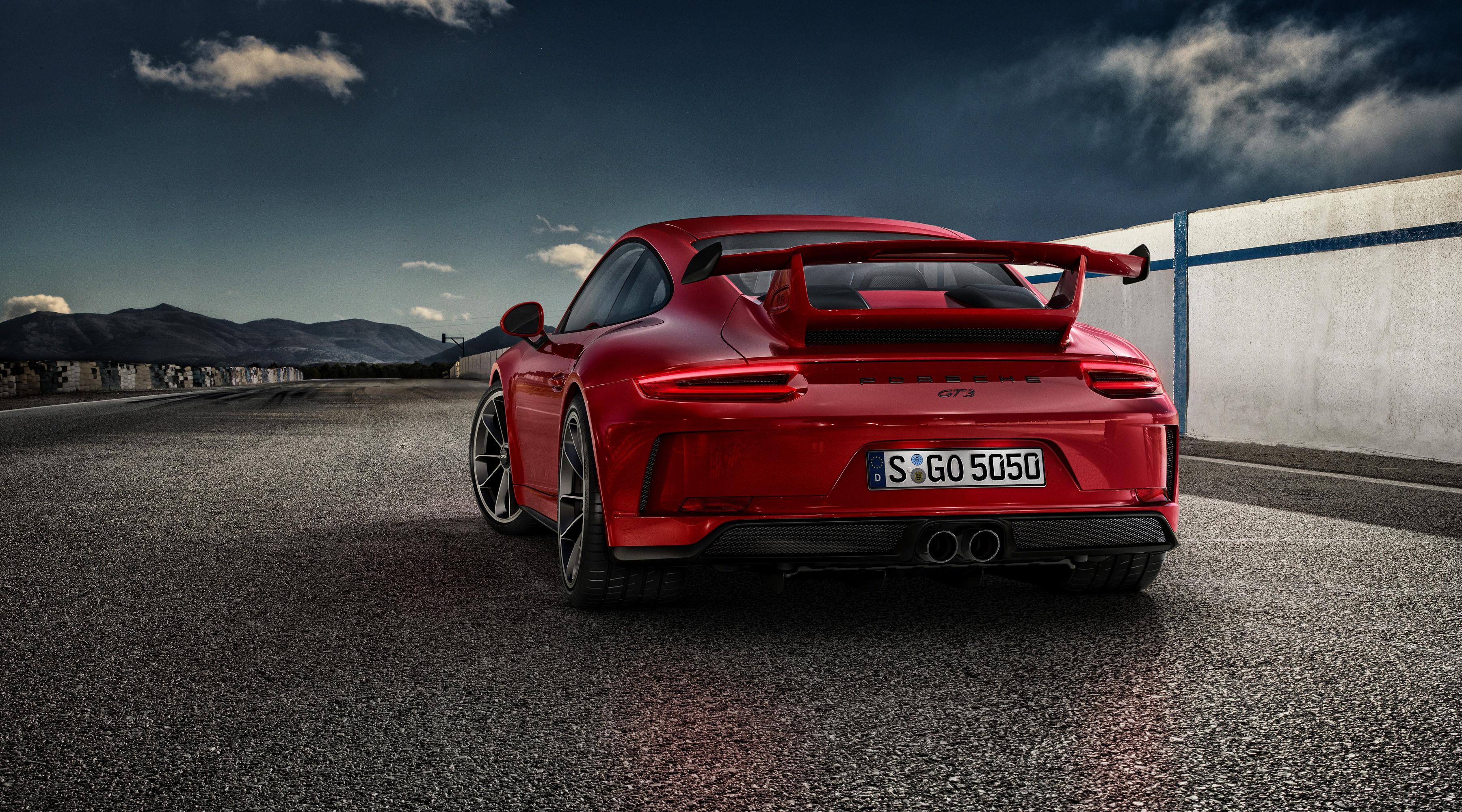 4k Porche Carrera Gt Wallpaper: 2017 Porsche 911 GT3, HD Cars, 4k Wallpapers, Images