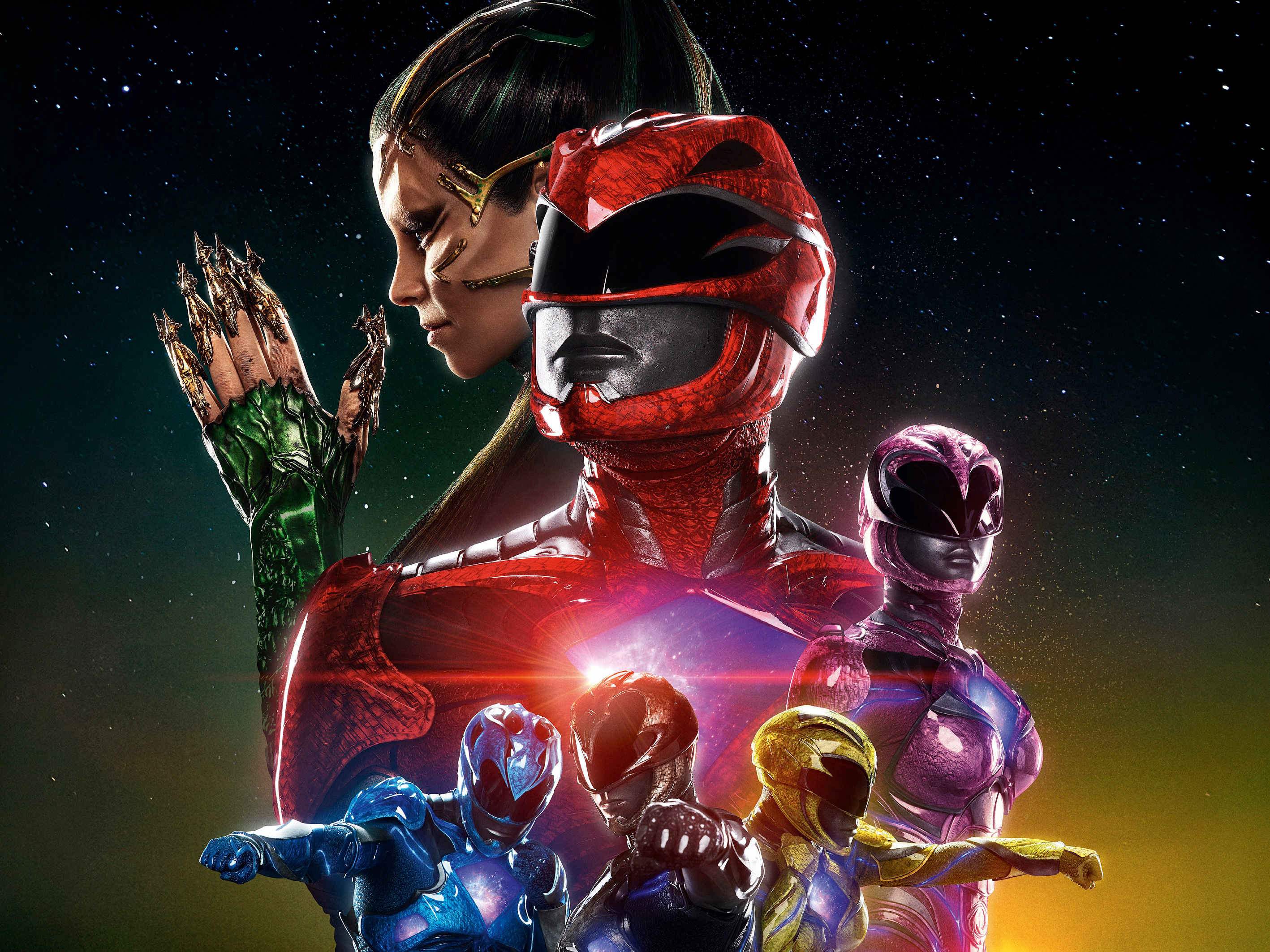 2017 Power Rangers Movie, HD Movies, 4k Wallpapers, Images ...