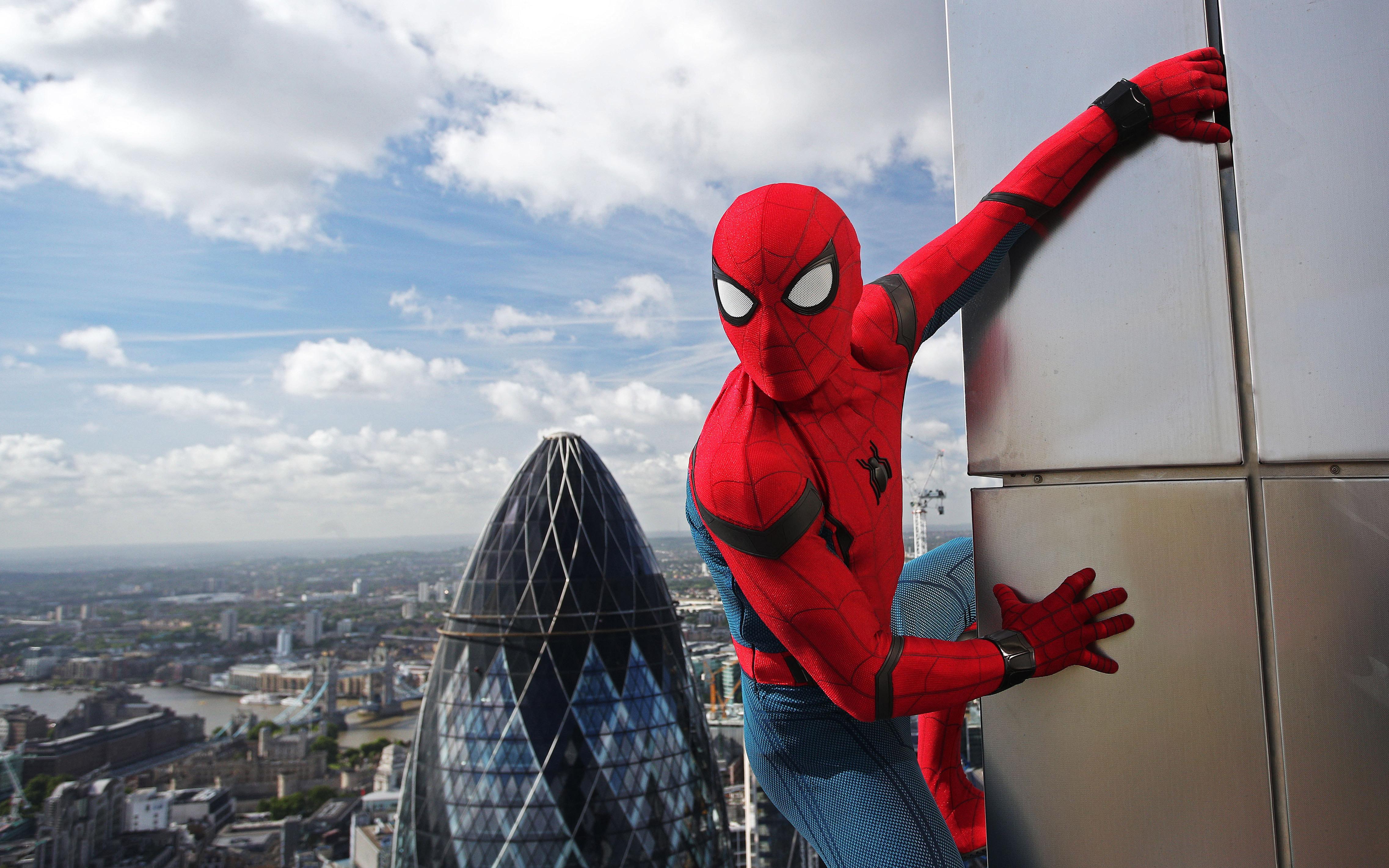Wallpaper Homecoming: 2017 Spiderman Homecoming Hd, HD Movies, 4k Wallpapers