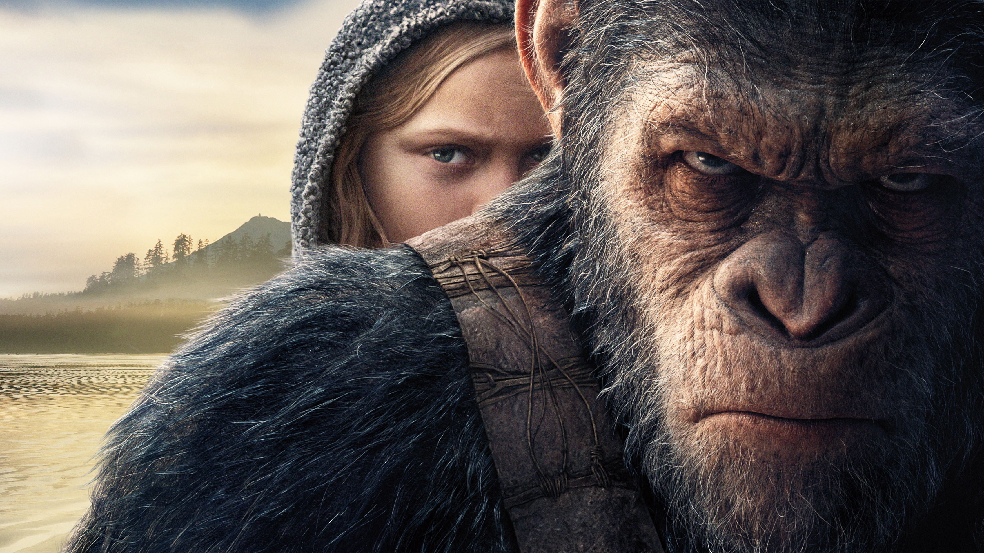 Planet Of The Apes Wallpaper: 2017 War For The Planet Of The Apes, HD Movies, 4k