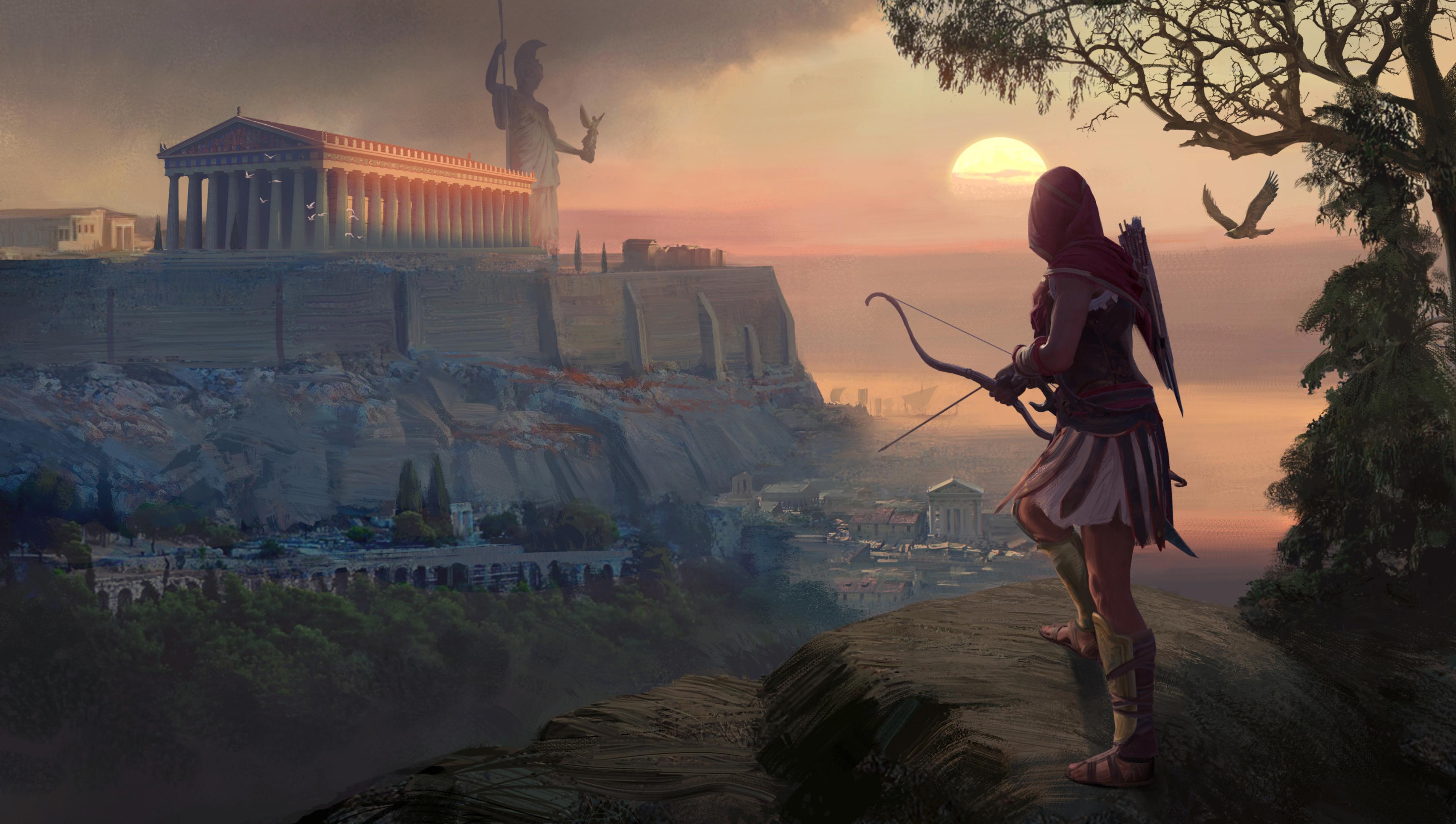 2018 Assassins Creed Origins 4k Hd Games 4k Wallpapers: 2018 Assassins Creed Odyssey Game 4k, HD Games, 4k