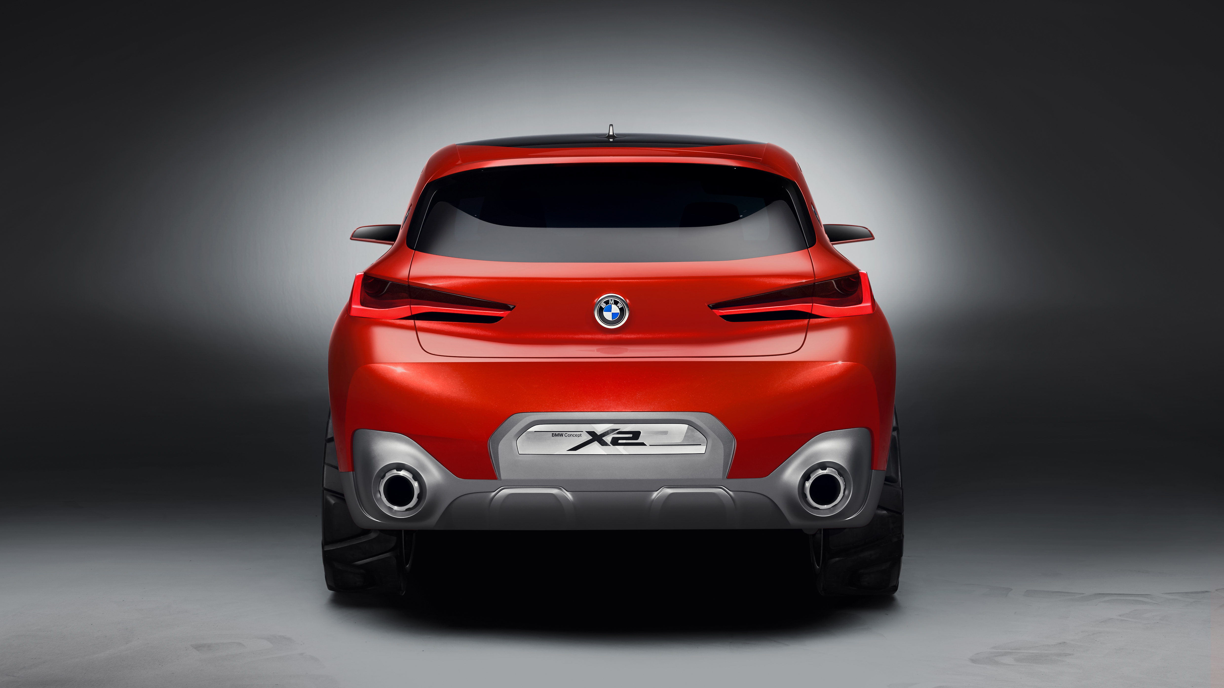 2018 Bmw X2 Concept Car Rear