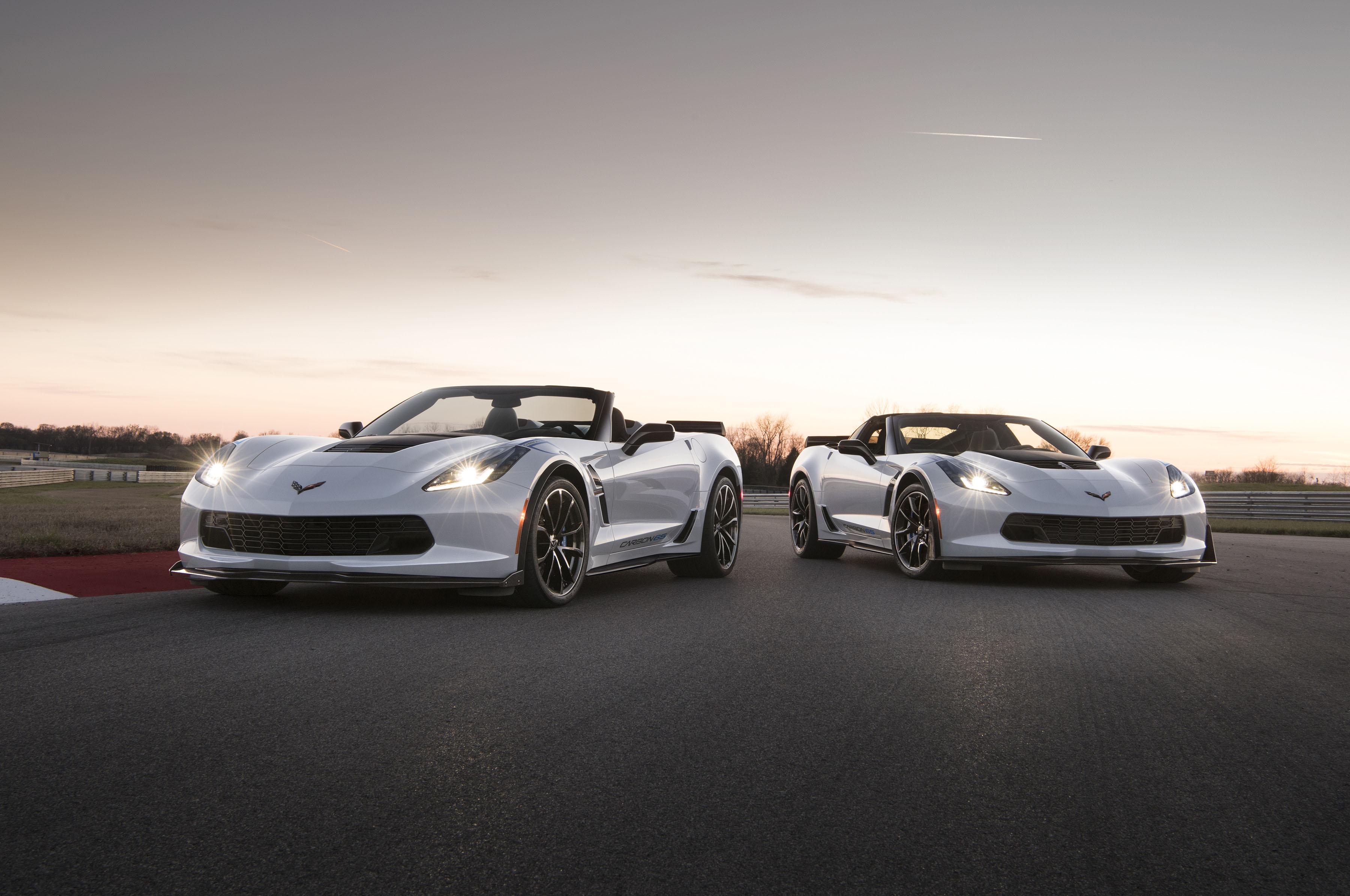 2018 Chevrole Corvette Carbon 65 Edition Model Hd Cars