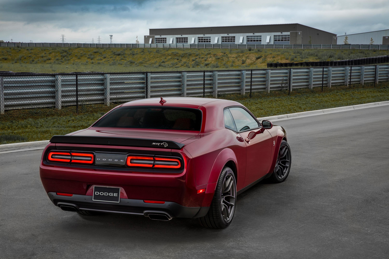 2018 Dodge Challenger SRT Hellcat Widebody Rear, HD Cars ...