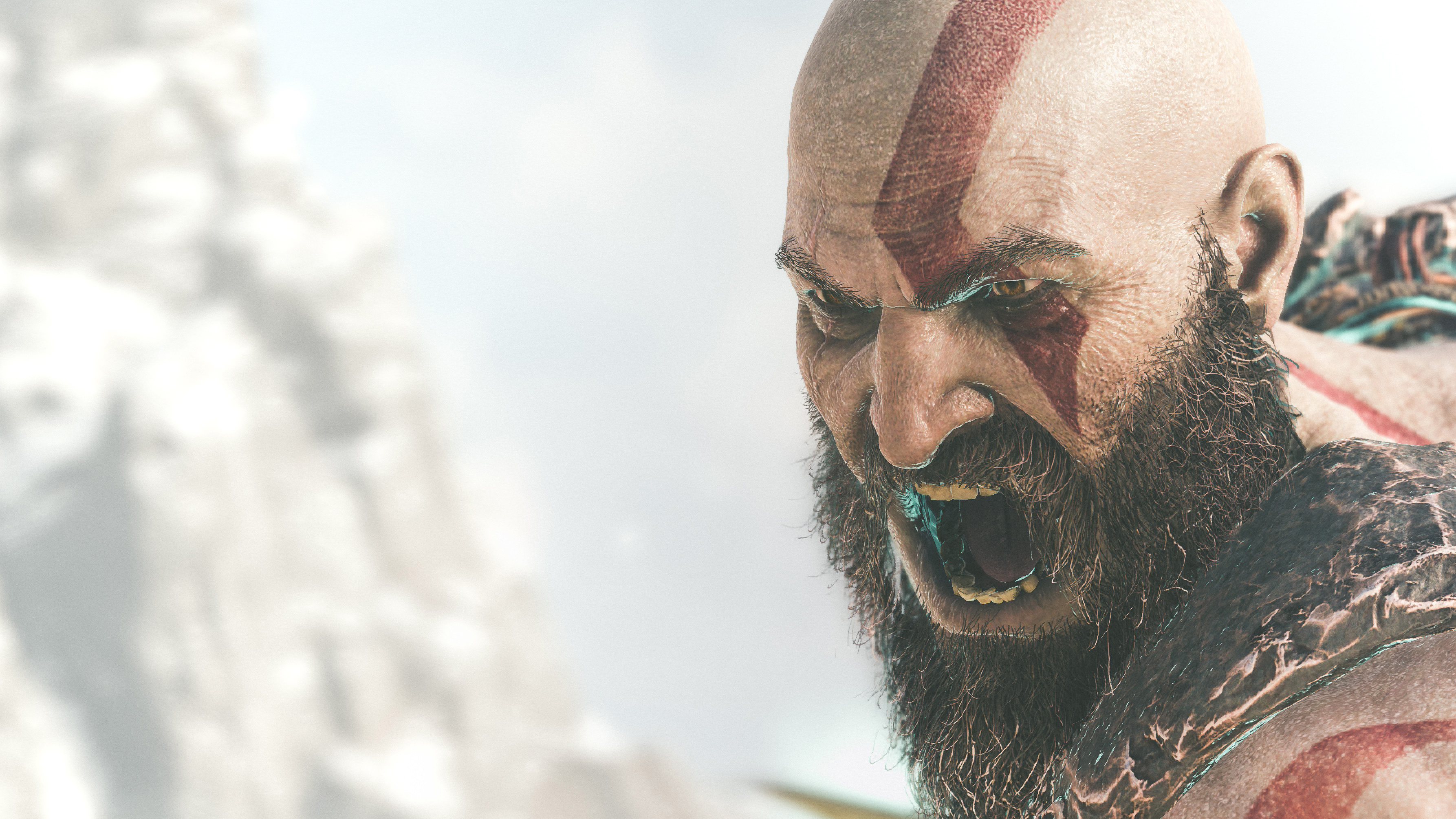 2018 Kratos God Of War 4k, HD Games, 4k Wallpapers, Images ...