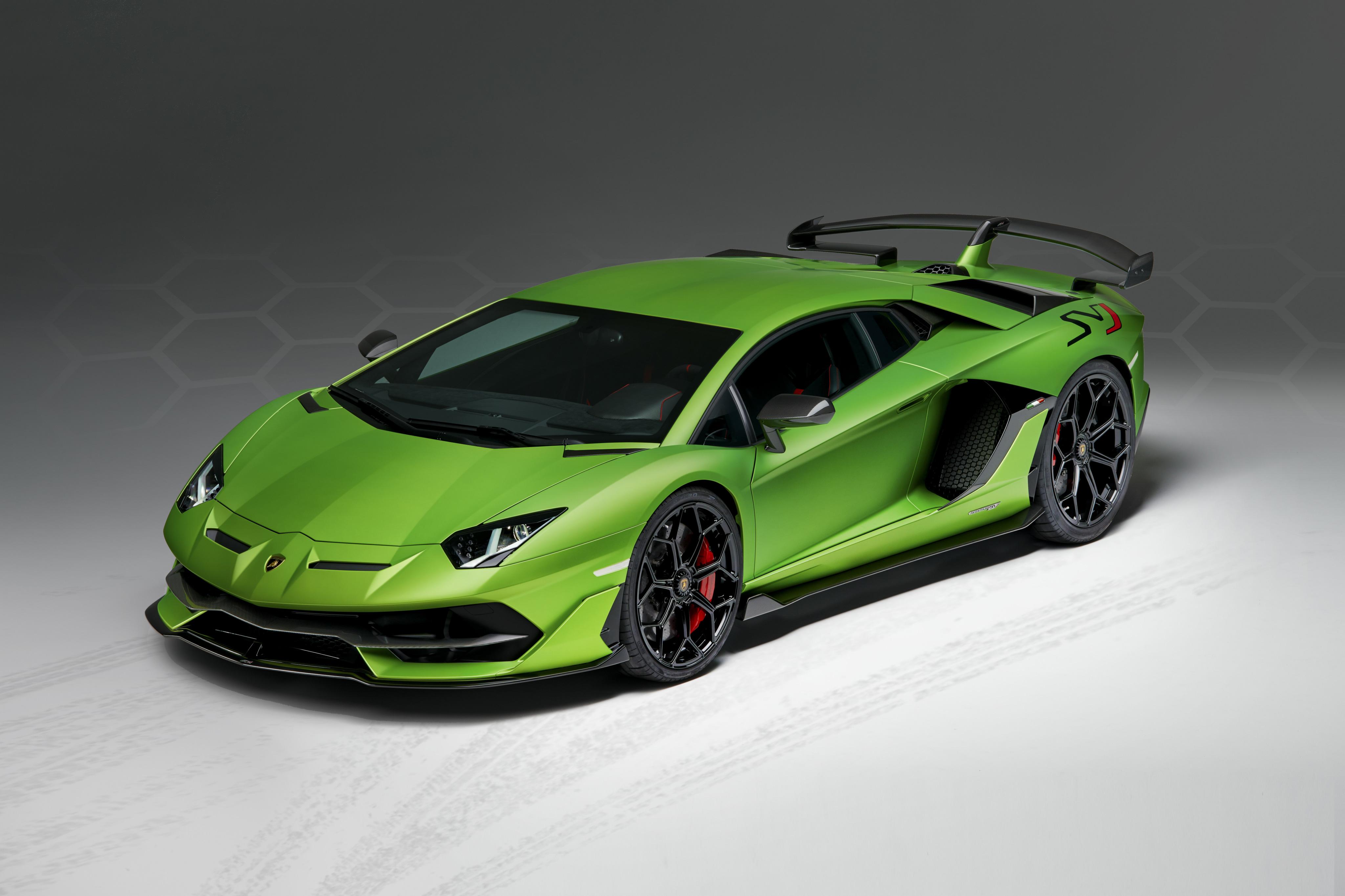 Lamborghini Aventador Green 4k Hd Cars 4k Wallpapers: 2018 Lamborghini Aventador SVJ, HD Cars, 4k Wallpapers