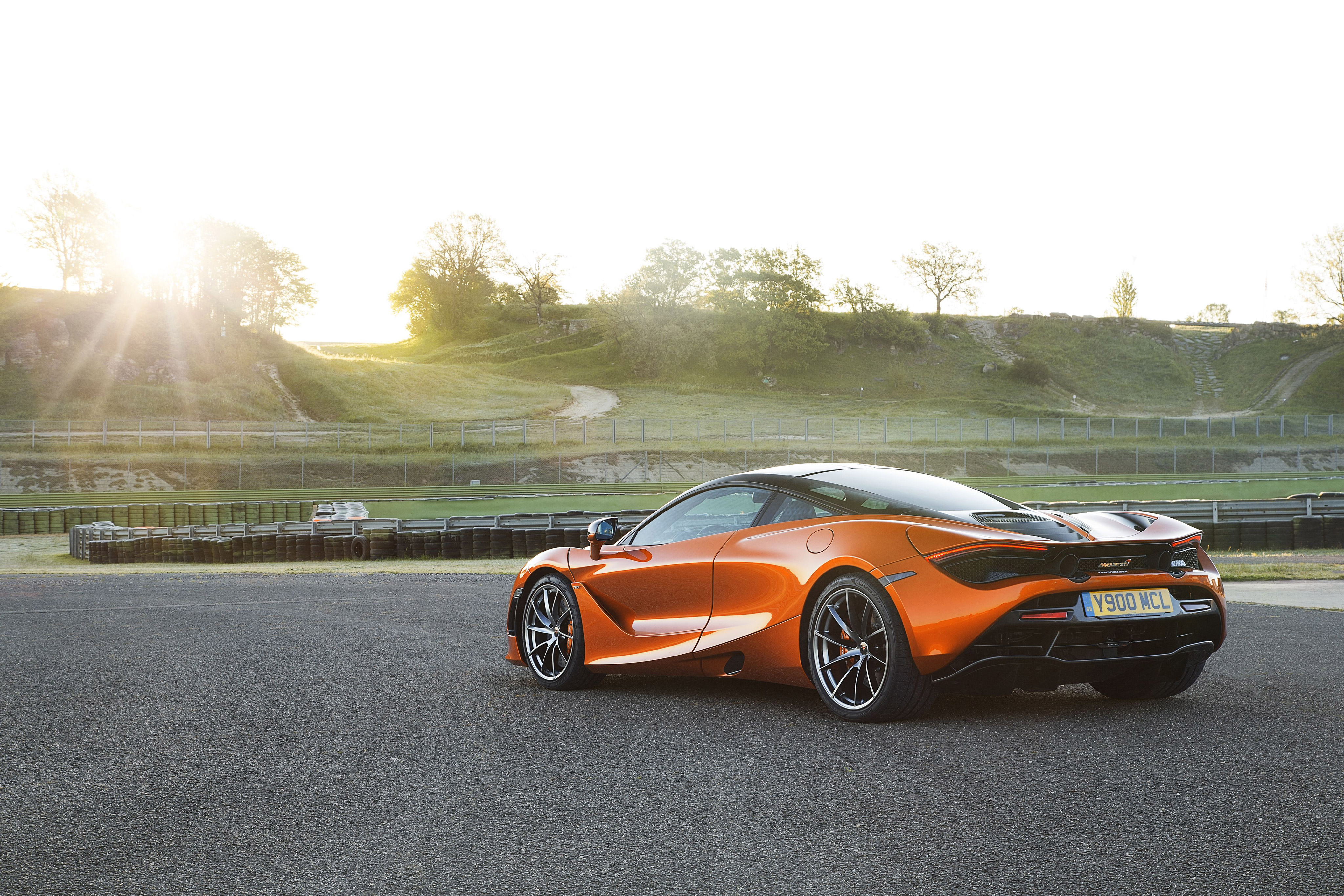 2018 mclaren 720s rear, hd cars, 4k wallpapers, images, backgrounds