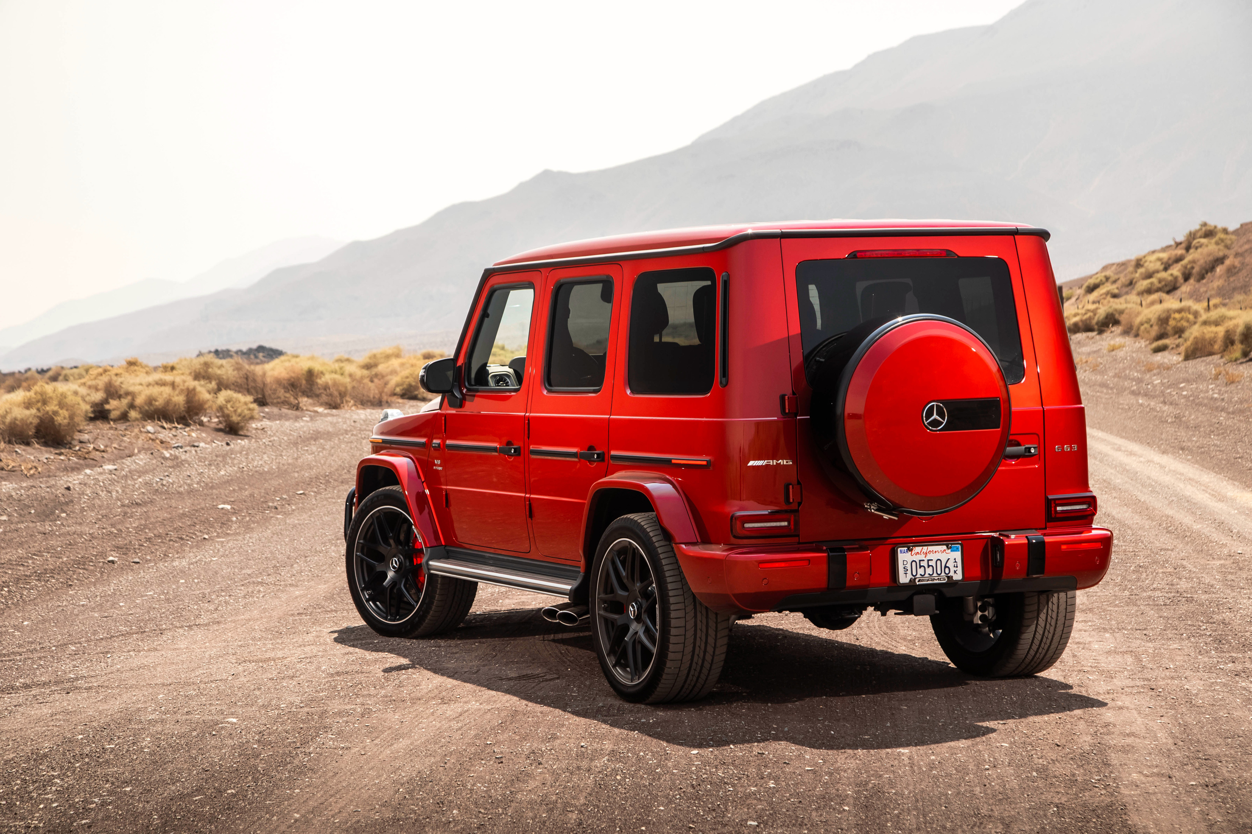 2018 Mercedes AMG G 63 Rear, HD Cars, 4k Wallpapers ...