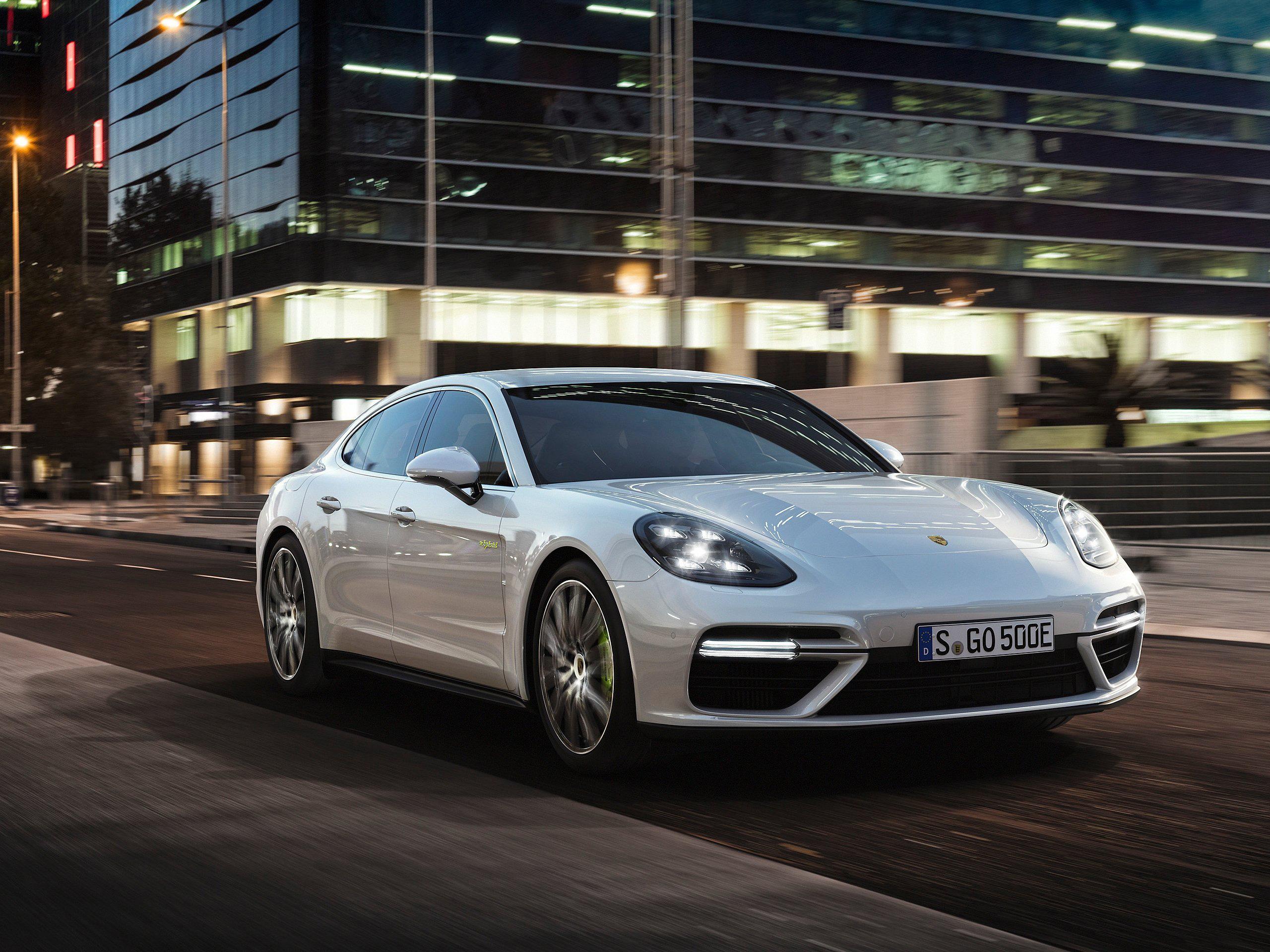 2018 Porsche Panamera Turbo S E Hybrid Hd Cars 4k