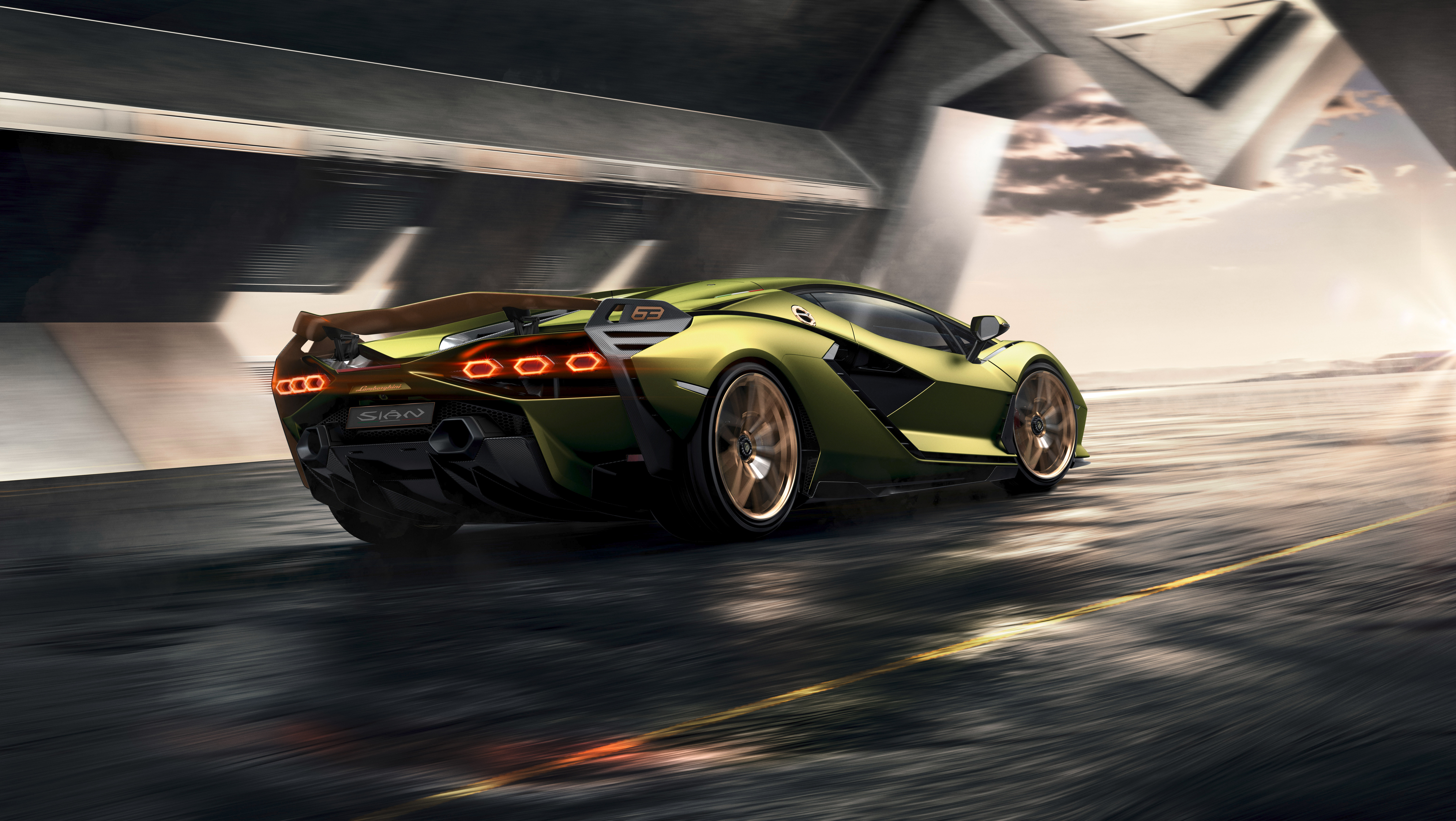 2019 8k Lamborghini Sian Hd Cars 4k Wallpapers Images