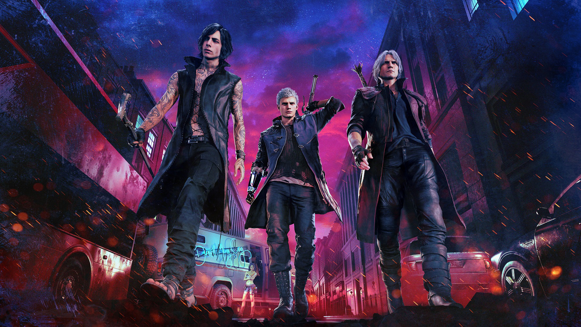 2019 Devil May Cry 5 1080P, HD Games, 4k Wallpapers