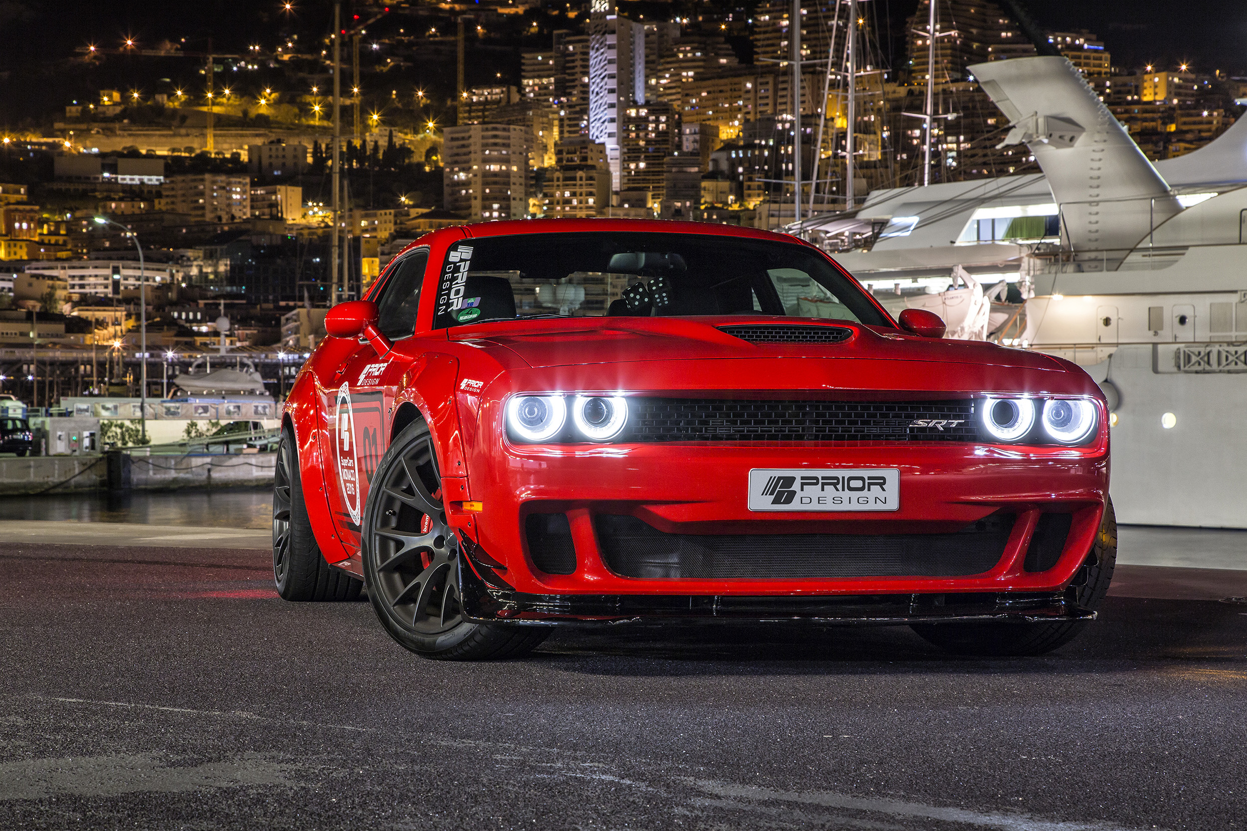 2019 Dodge Challenger Hellcat Prior Design, HD Cars, 4k ...