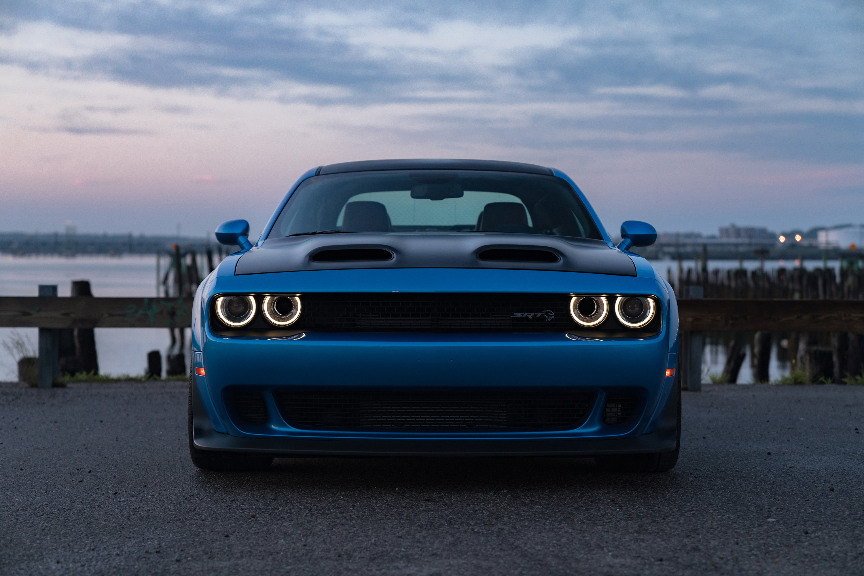 Dodge Demon Red Eye Wallpaper