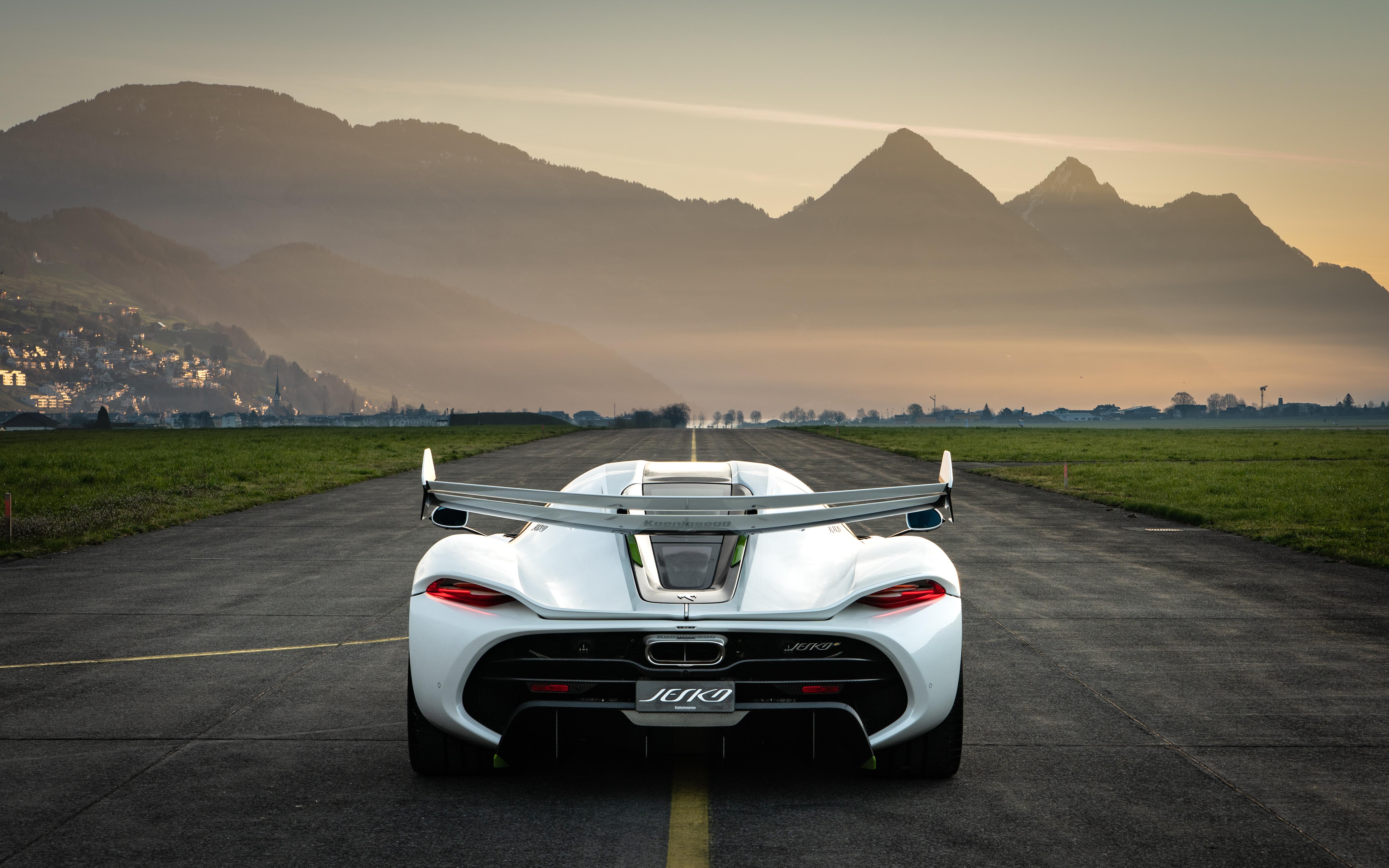2019 Koenigsegg Jesko Rear, HD Cars, 4k Wallpapers, Images ...