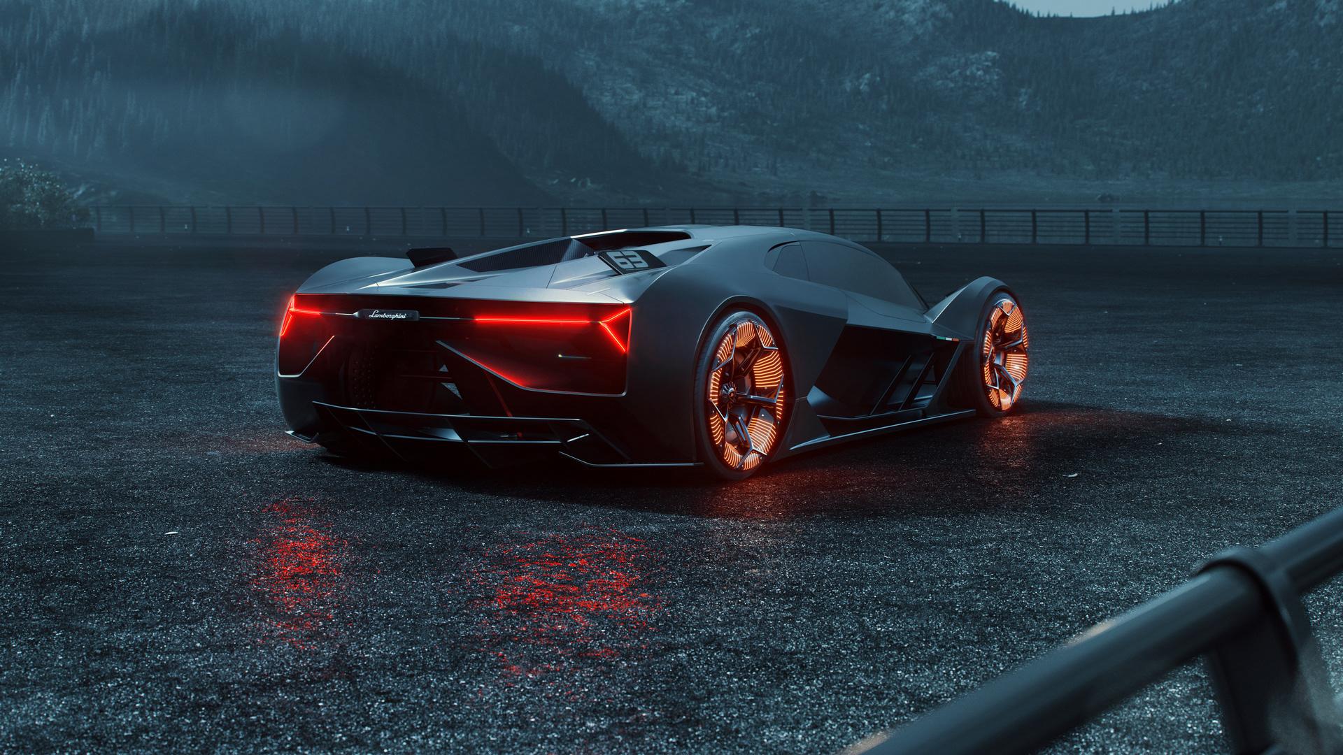Car Mobile Wallpaper: 2019 Lamborghini Terzo Millennio HD, HD Cars, 4k
