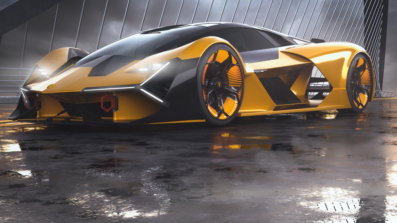 2019 Lamborghini Terzo Millennio, HD Cars, 4k Wallpapers