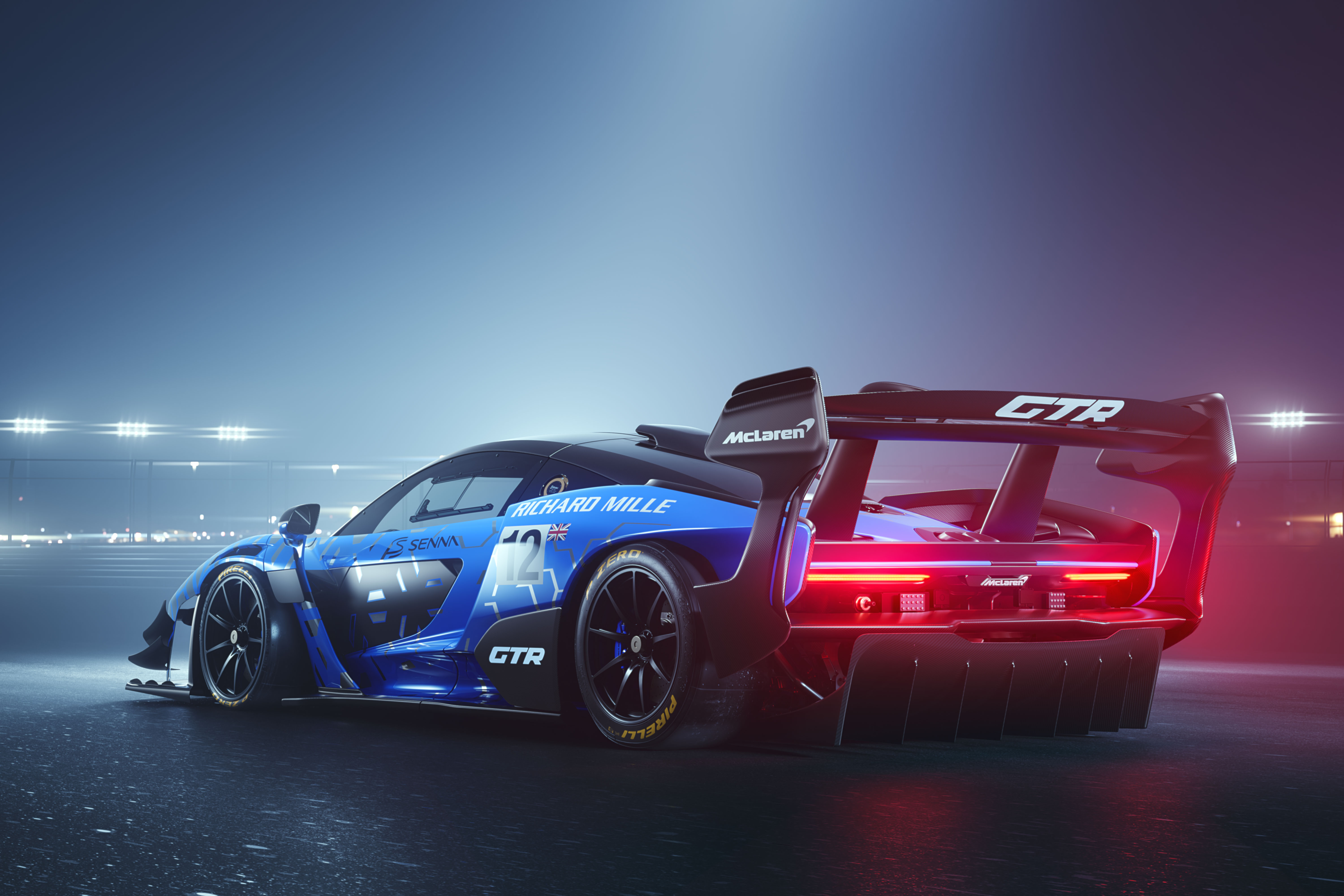 2019 McLaren Senna GTR Rear, HD Cars, 4k Wallpapers ...