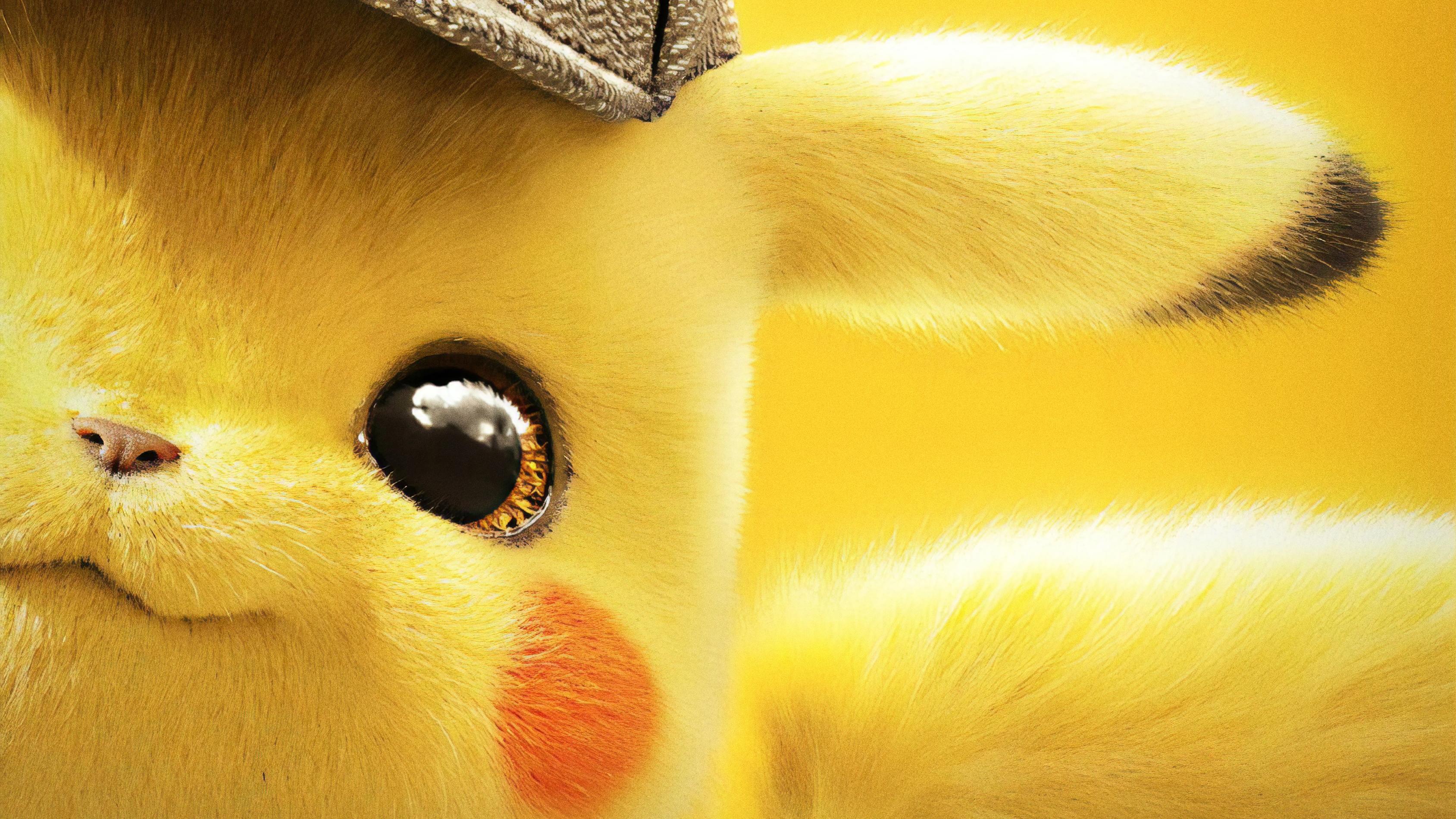 2019 Pokemon Detective Pikachu 4k Hd Movies 4k Wallpapers