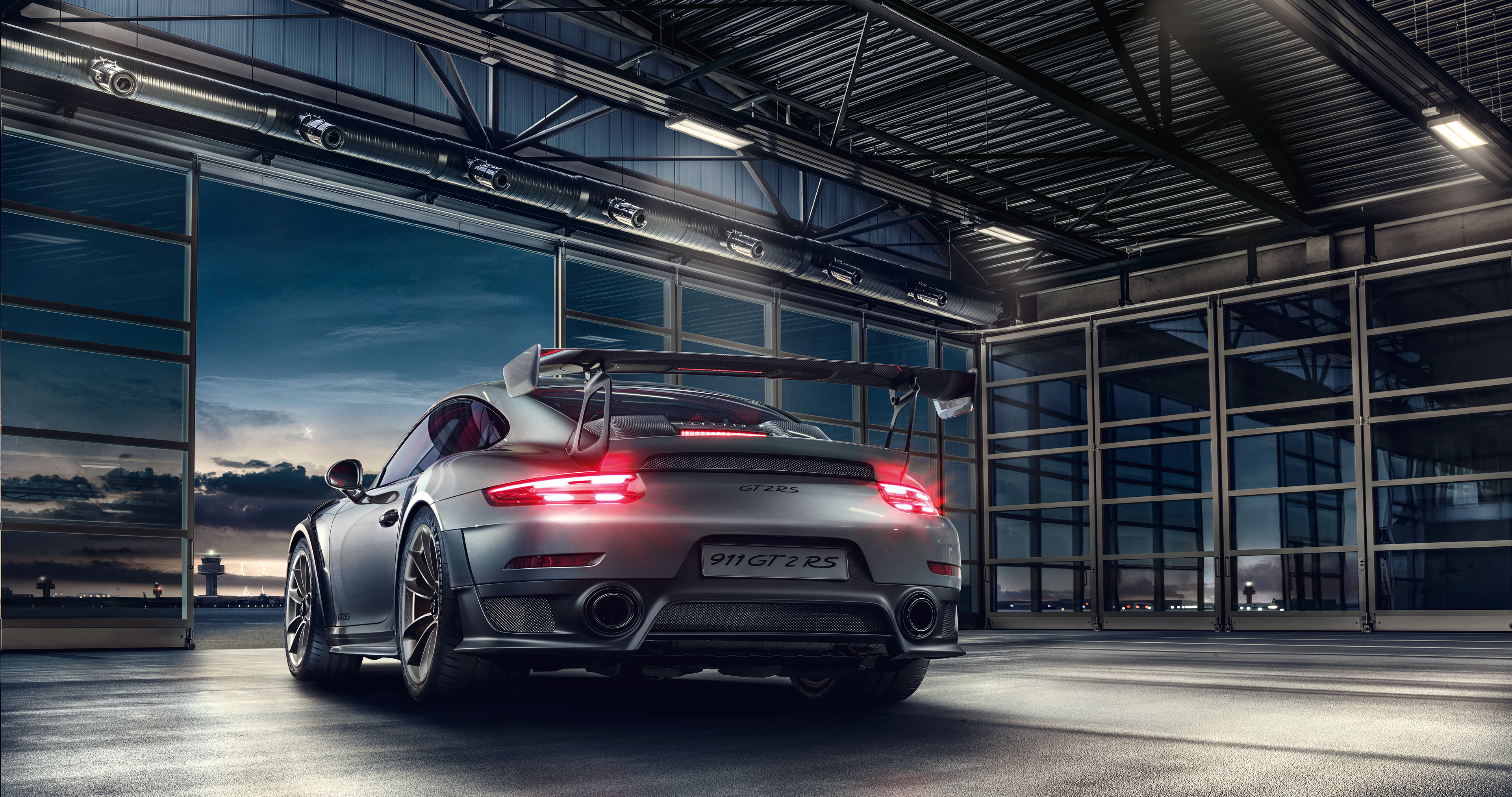 2019 Porsche 911 Gt2 Rs 4k Rear Hd Cars 4k Wallpapers
