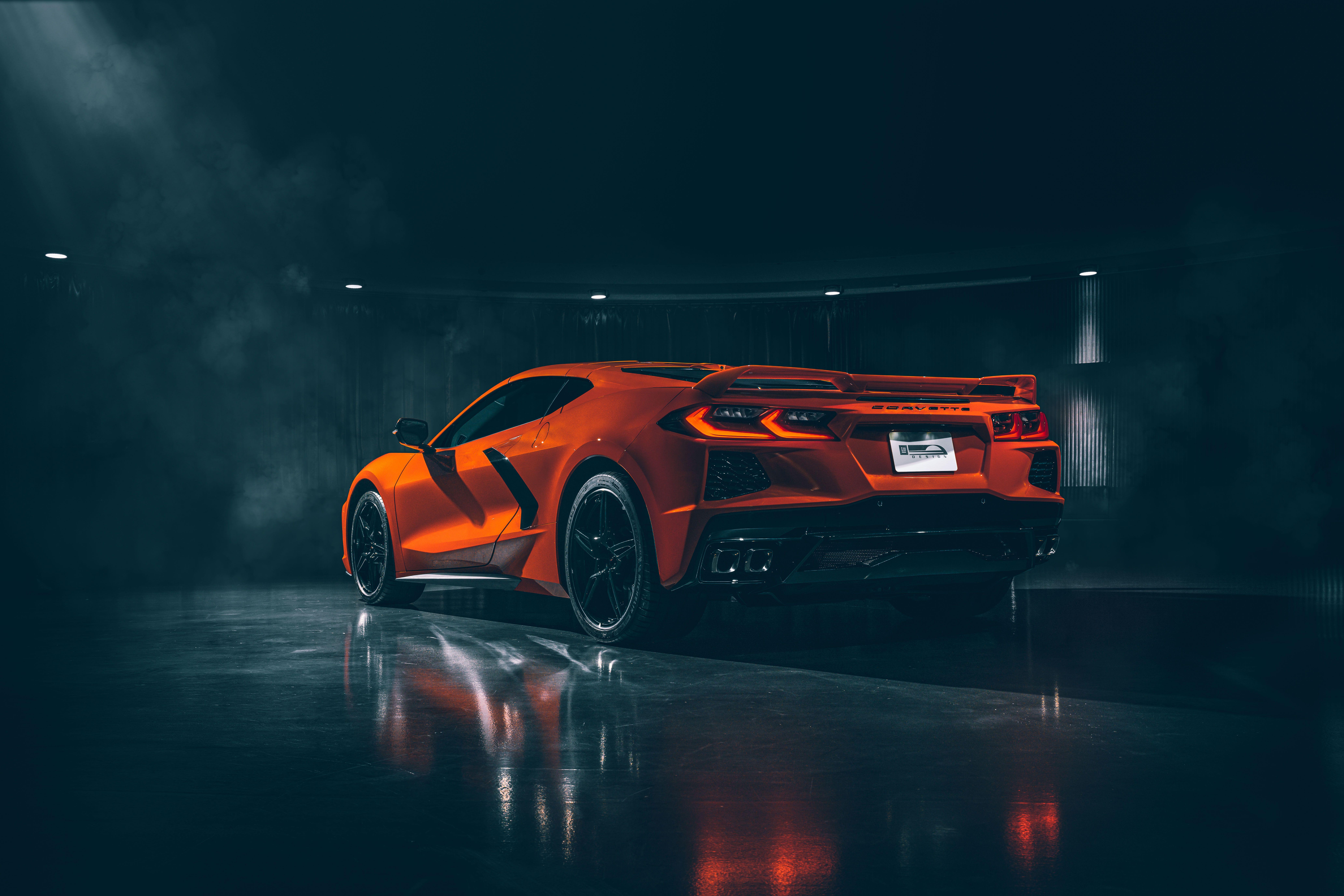 2020 Chevrolet Corvette Stingray C8 Rear, HD Cars, 4k ...