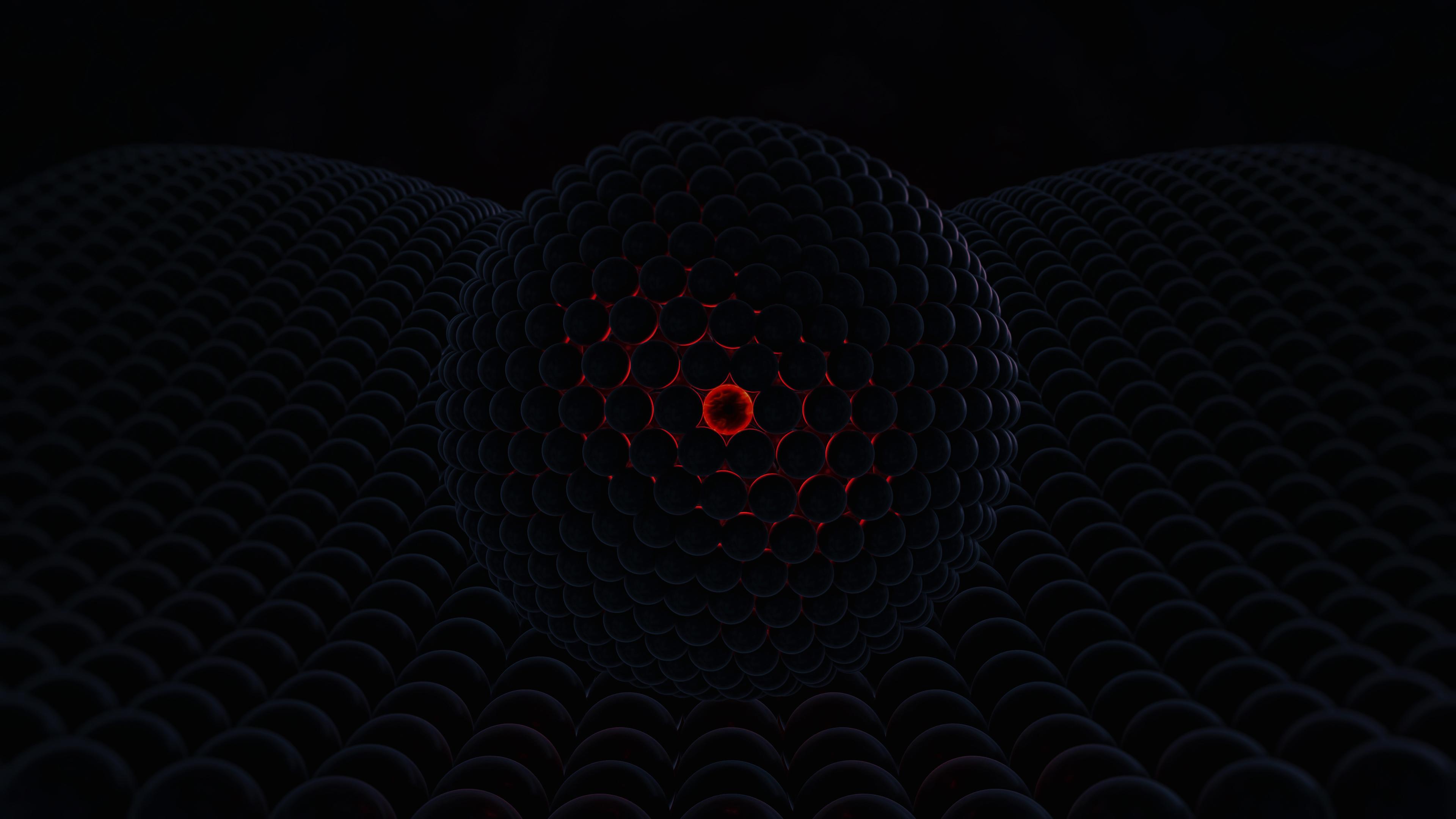 3d Abstract Red Cgi Digital Art 4k, HD 3D, 4k Wallpapers ...