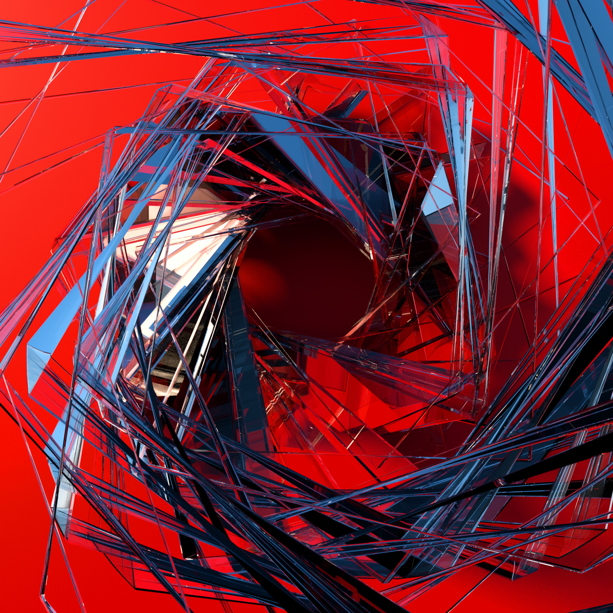 3d Glass Abstract Art, HD 3D, 4k Wallpapers, Images
