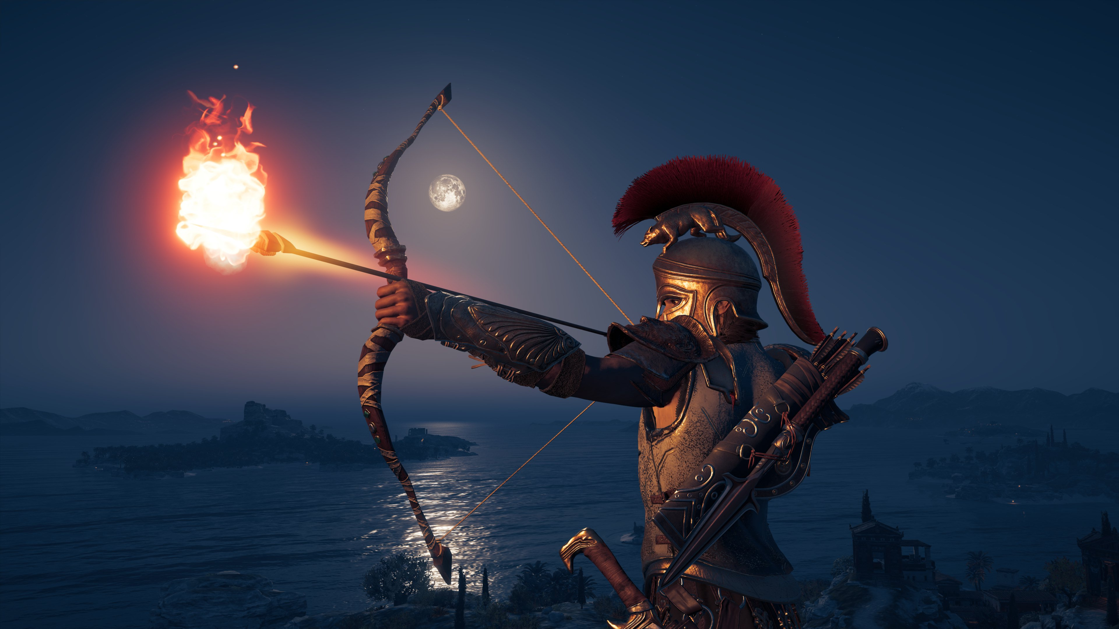 3840x2400 4k Assassins Creed Odyssey Bow And Arrow 4k HD ...