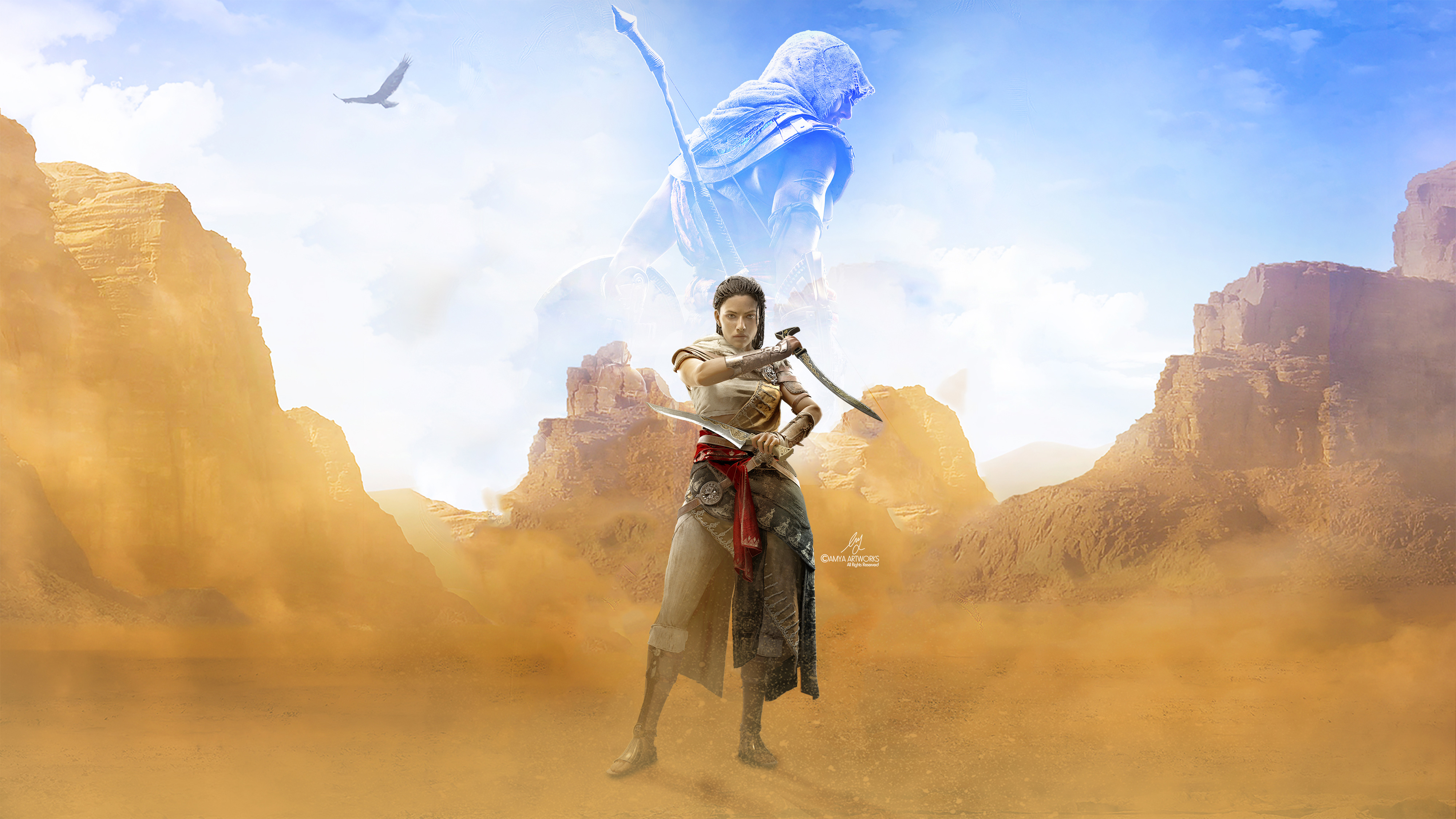 Assassins Creed Origins Wallpaper: 4k Assassins Creed Origins Game, HD Games, 4k Wallpapers