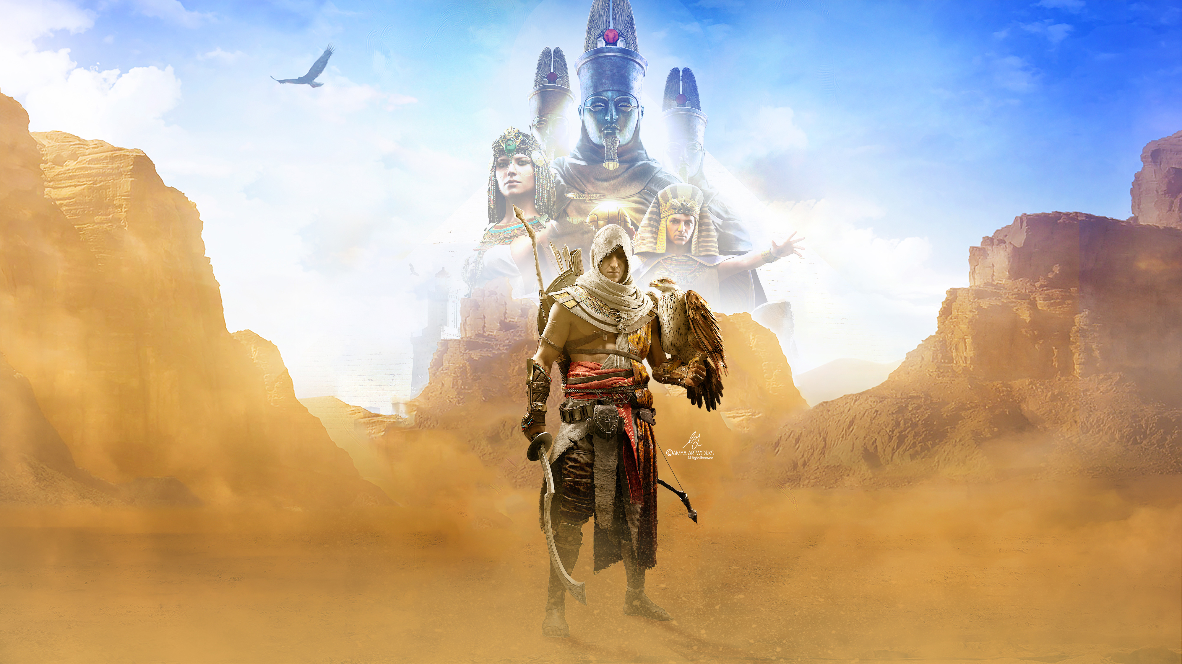 4k Assassins Creed Origins, HD Games, 4k Wallpapers ...