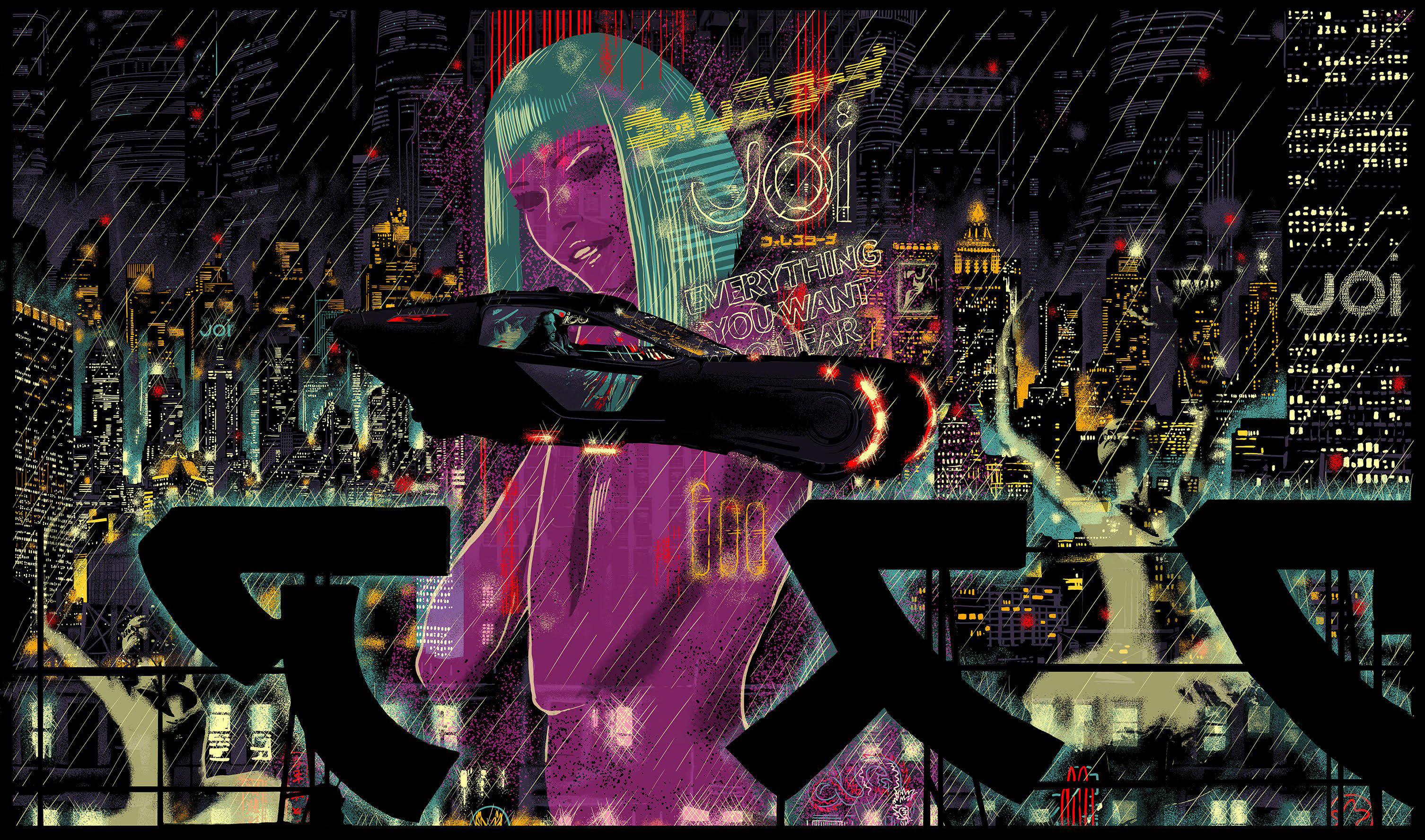 blade runner wallpaper iphone